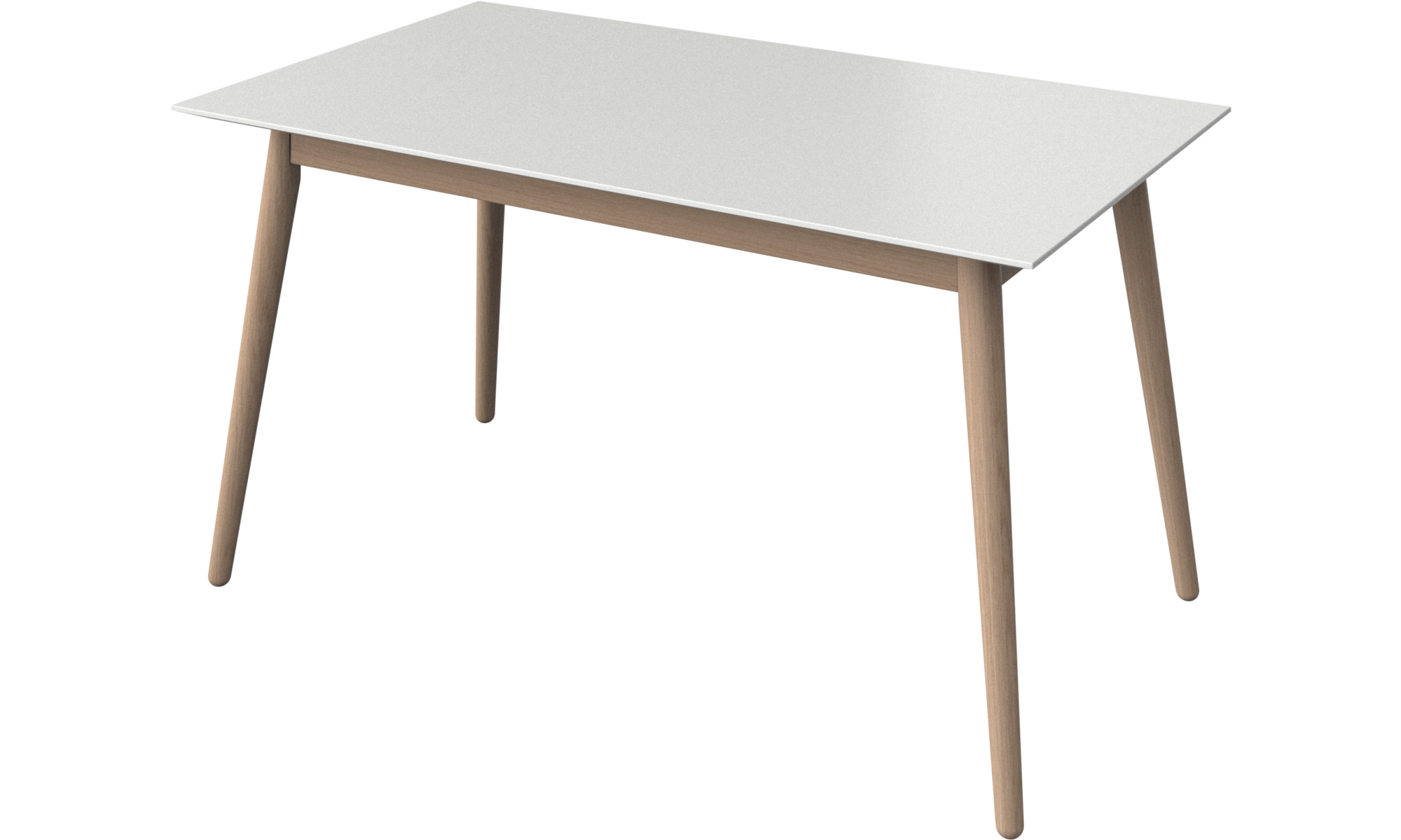 Dining Tables Milano Table Rectangular White Lacquered