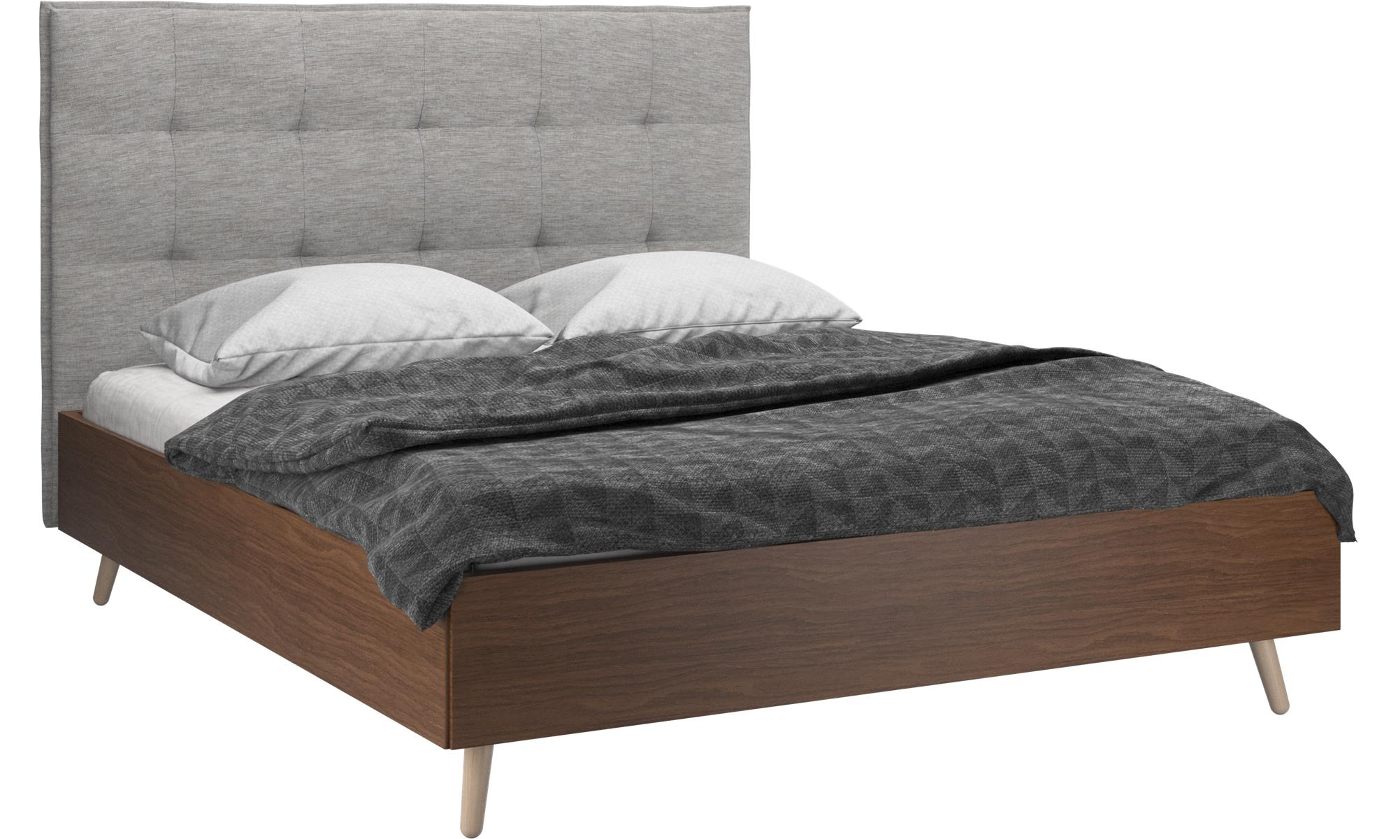 betten lugano bett lattenrost und matratze gegen aufpreis boconcept. Black Bedroom Furniture Sets. Home Design Ideas