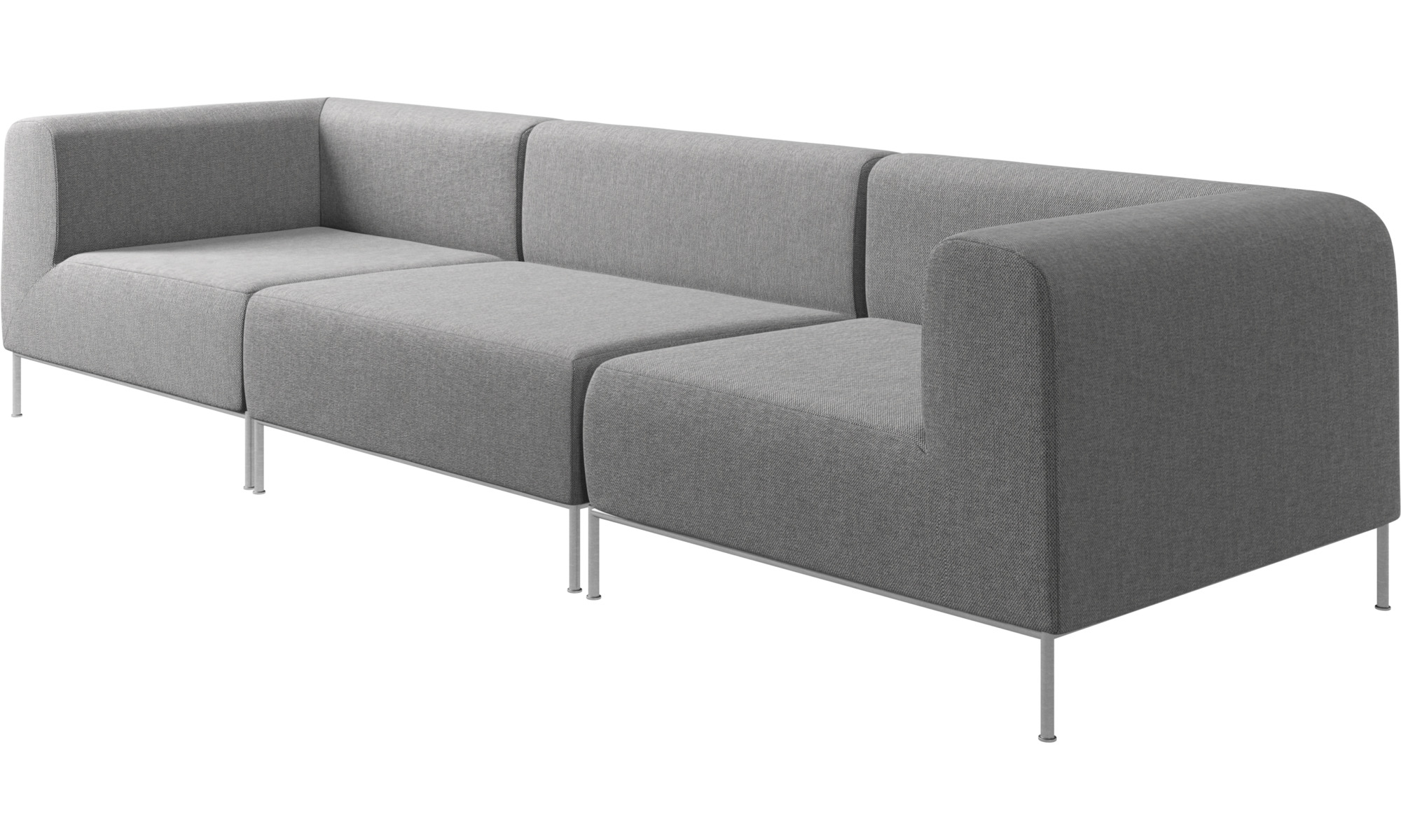 Modular Sofas Miami Sofa Grey Fabric