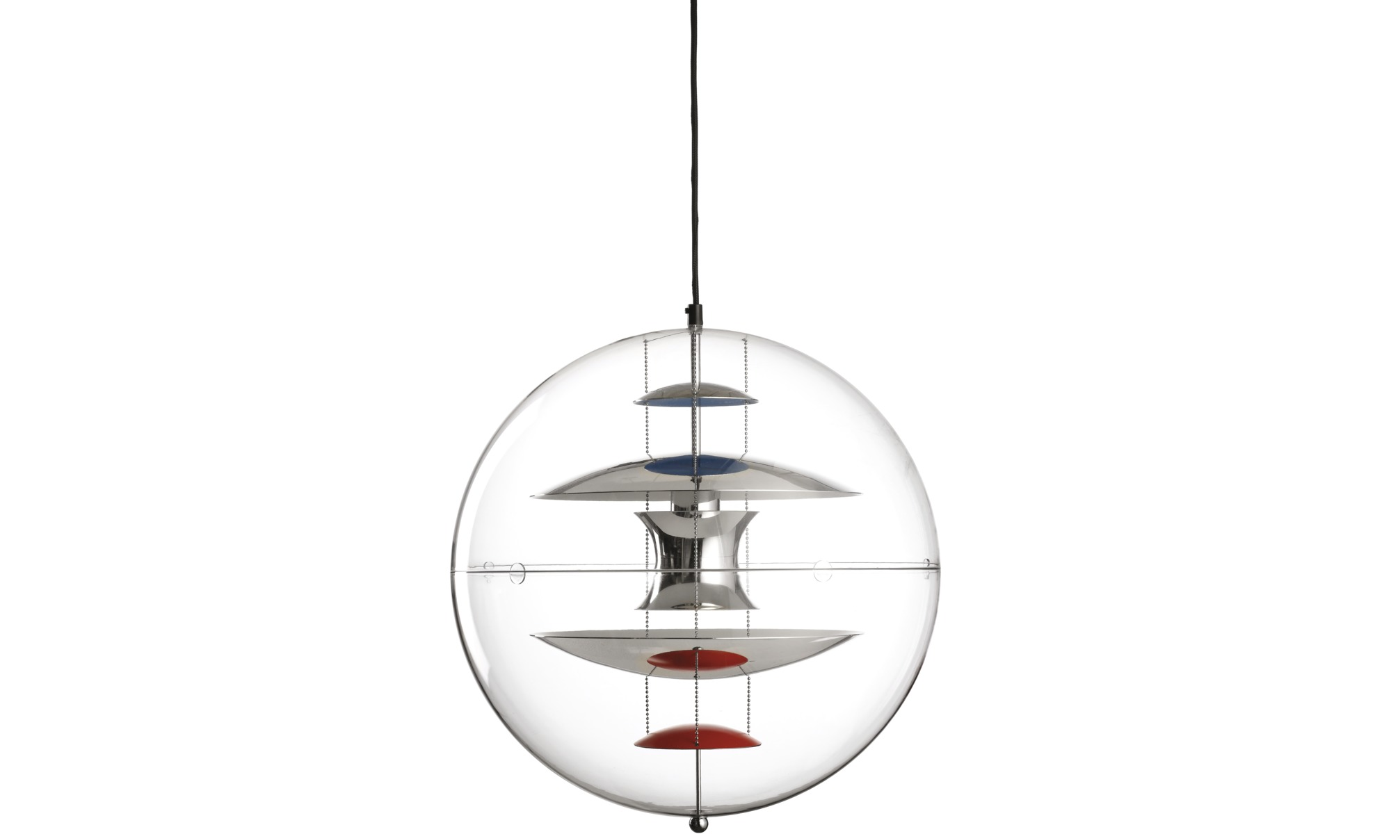 Pendants globe pendant boconcept for Suspension boule verre