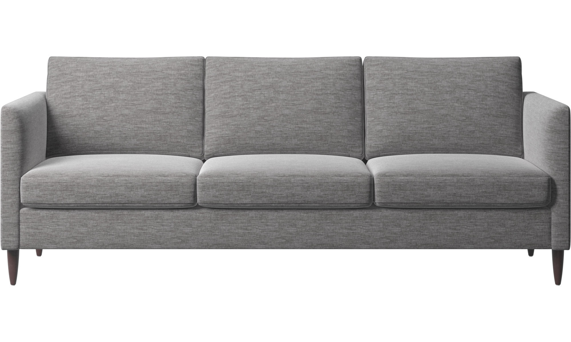 3 personers sofaer - Indivi sofa - Grå - Stof