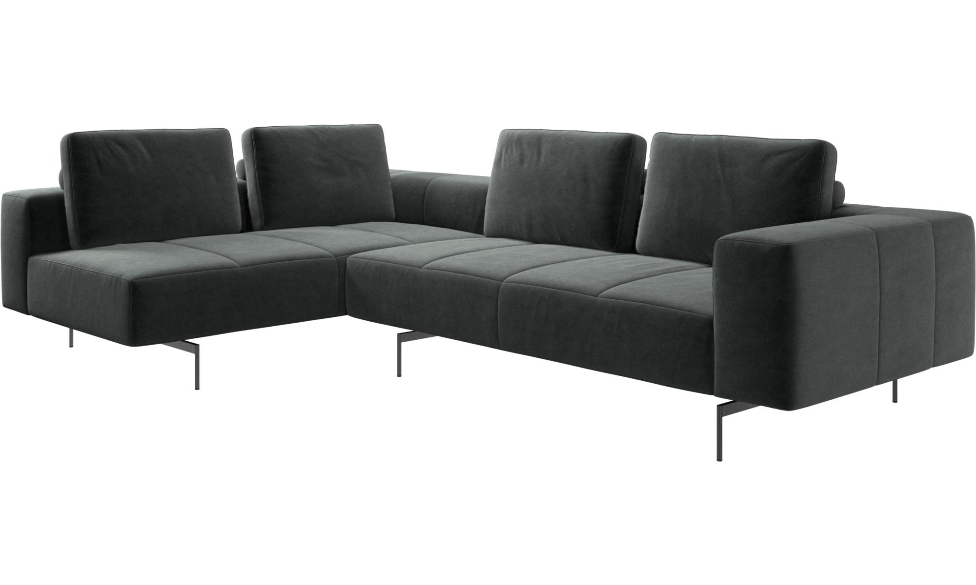 Corner sofas - Amsterdam corner sofa with lounging unit ...