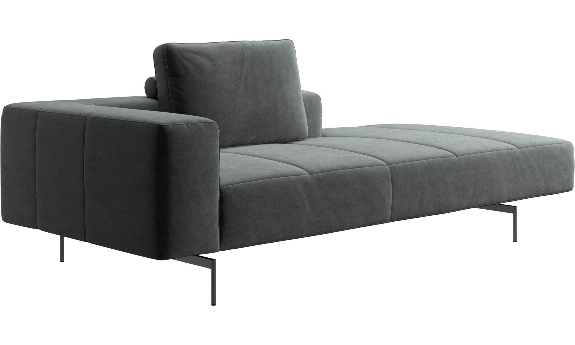 sofas mit r camiere amsterdam sofa loungemodul mittelgro e armlehne rechts boconcept. Black Bedroom Furniture Sets. Home Design Ideas