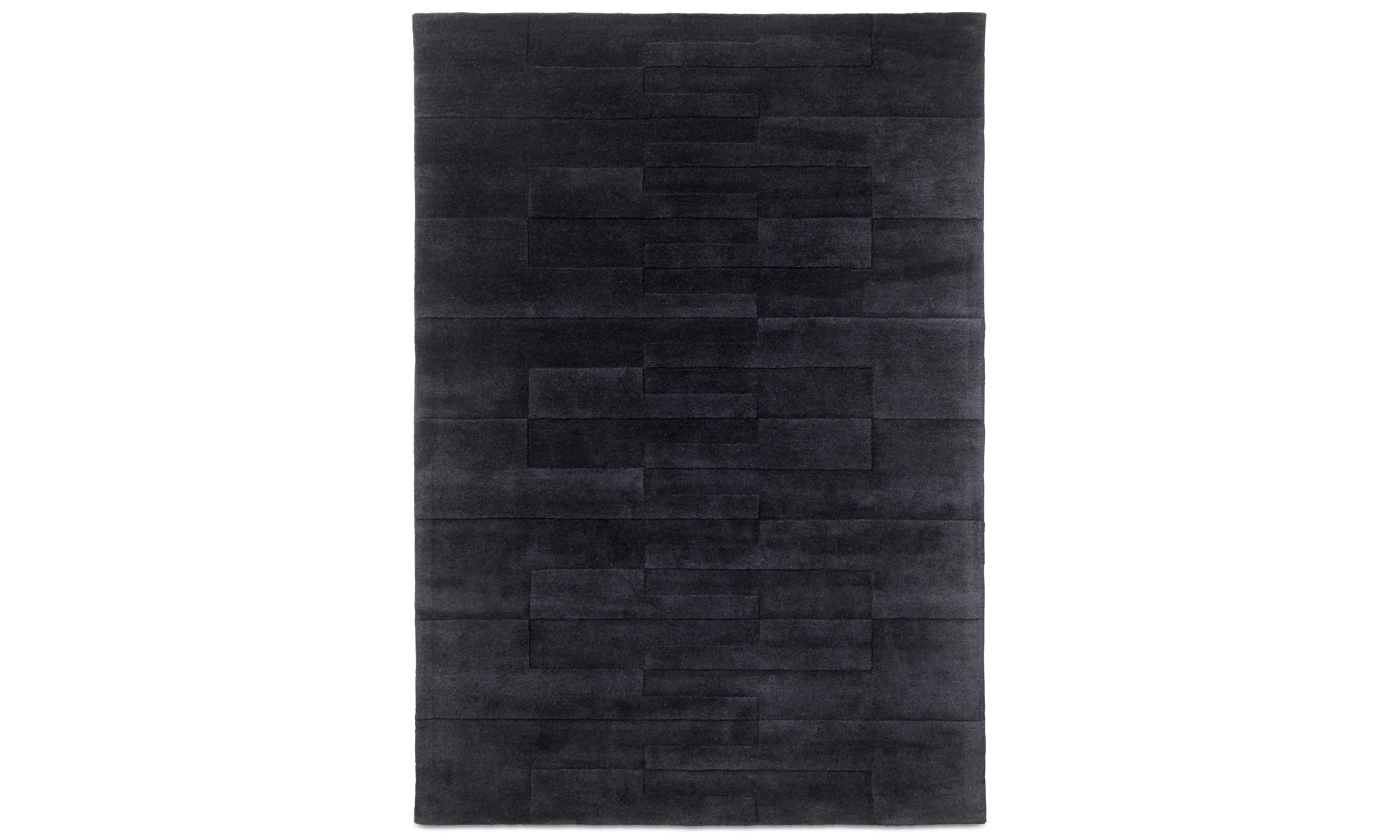 Teppiche - Cosenza Teppich - rechteckig - Blau - Wolle