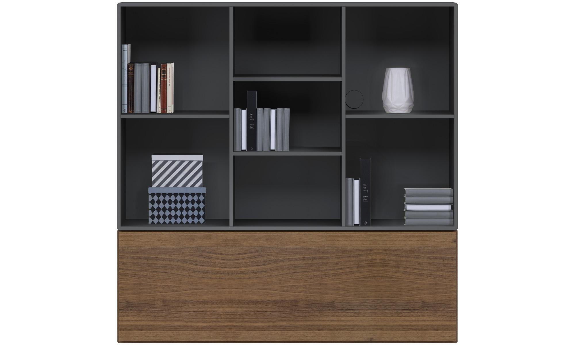 Affordable murales meuble lugano avec fixation murale et for Meuble tv ware