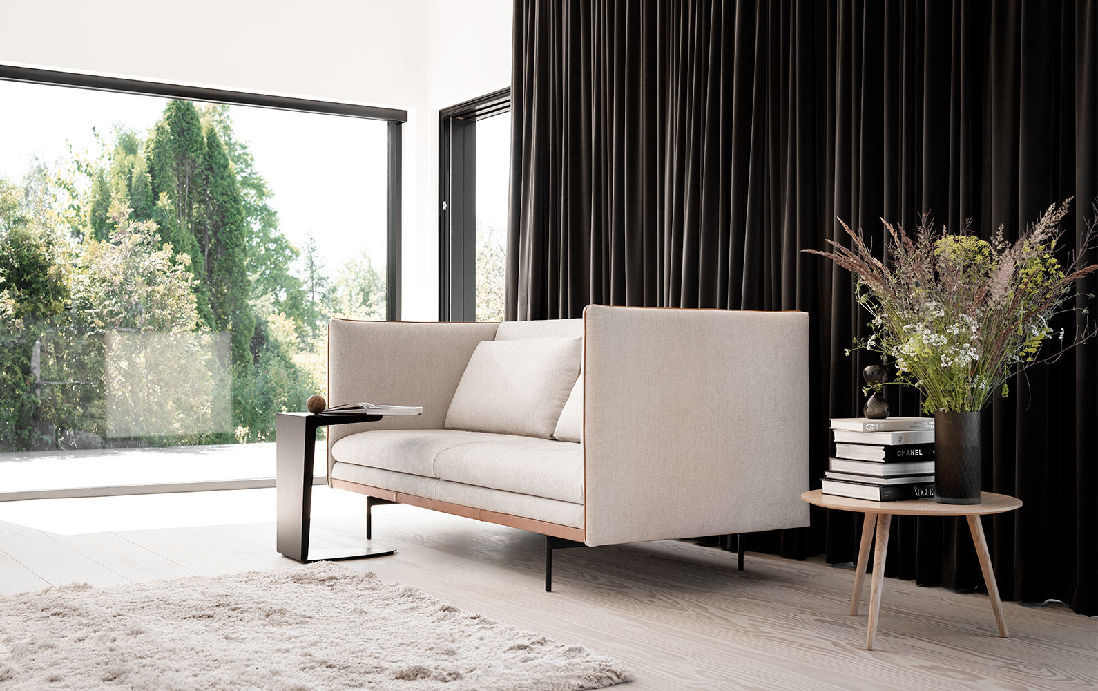 2 seater sofas - Nantes sofa with cushions