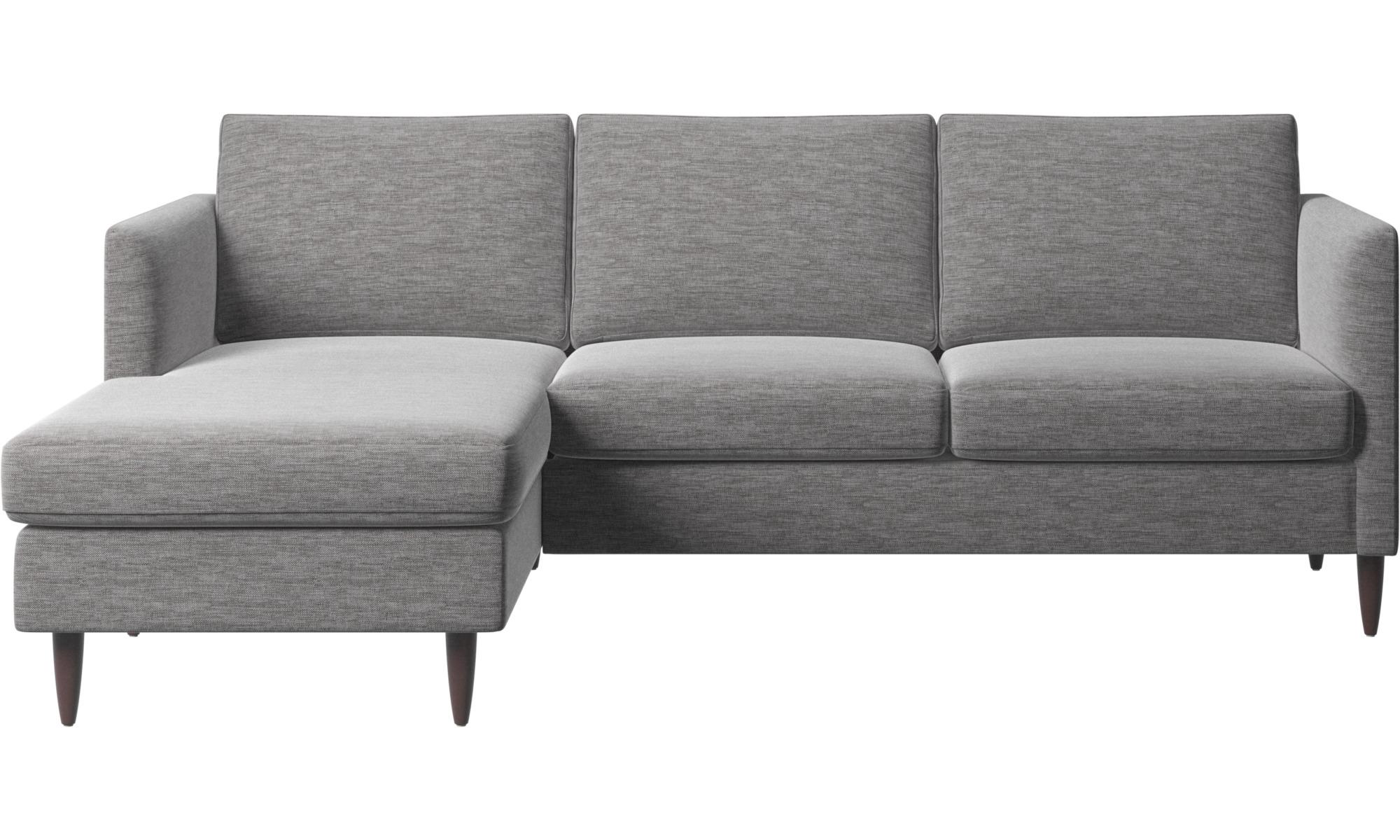 Sofaer med chaiselong - Indivi sofa med hvilemodul - Grå - Stof