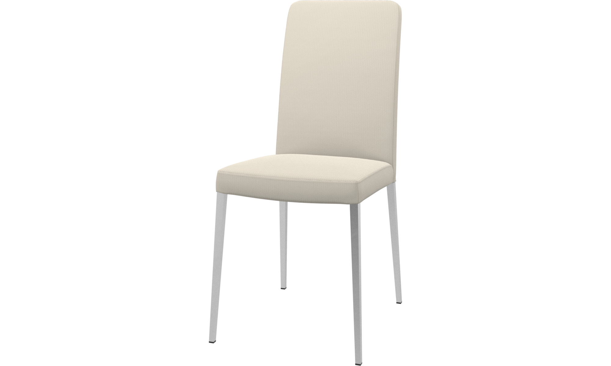 Dining chairs - Nico chair - White - Fabric