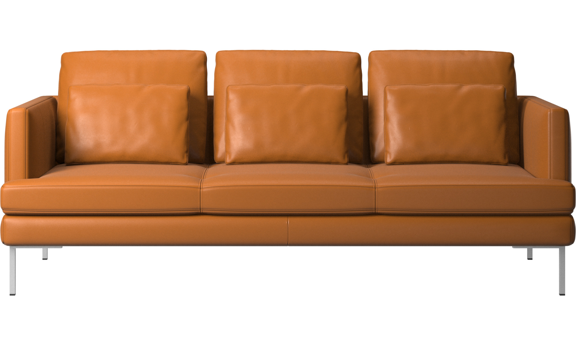 3 personers sofaer - Istra 2 sofa - Brun - Læder