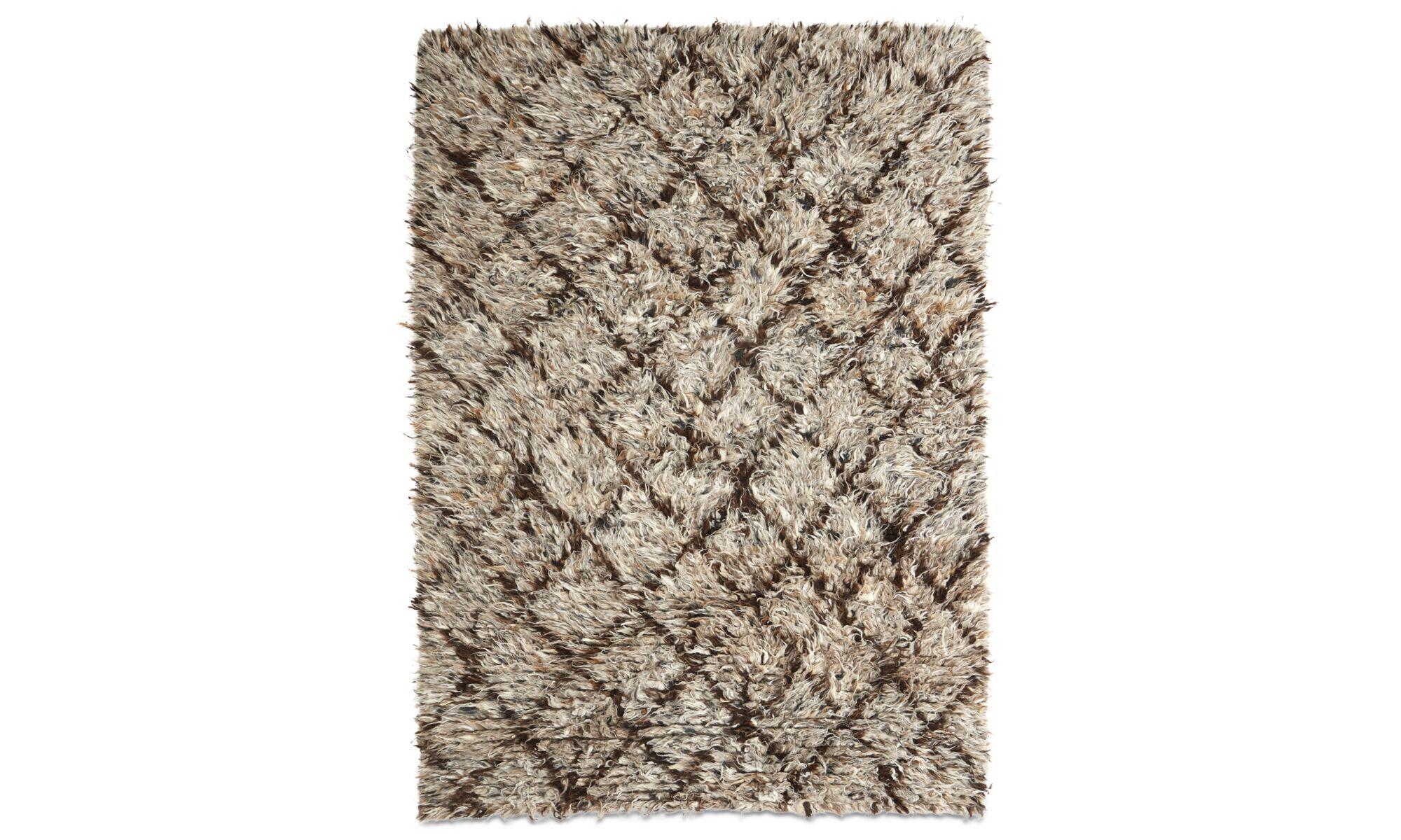 Teppiche - Retrospective Teppich - rechteckig - Braun - Wolle