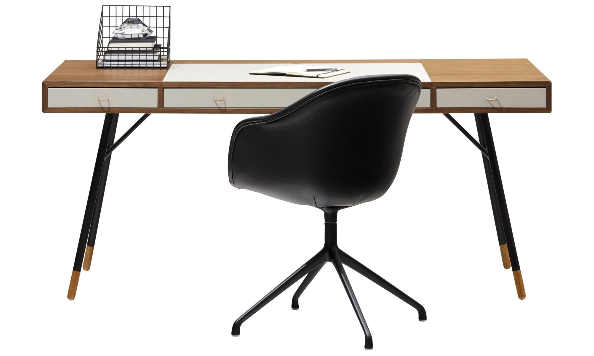 Desks cupertino desk boconcept for Bo concept