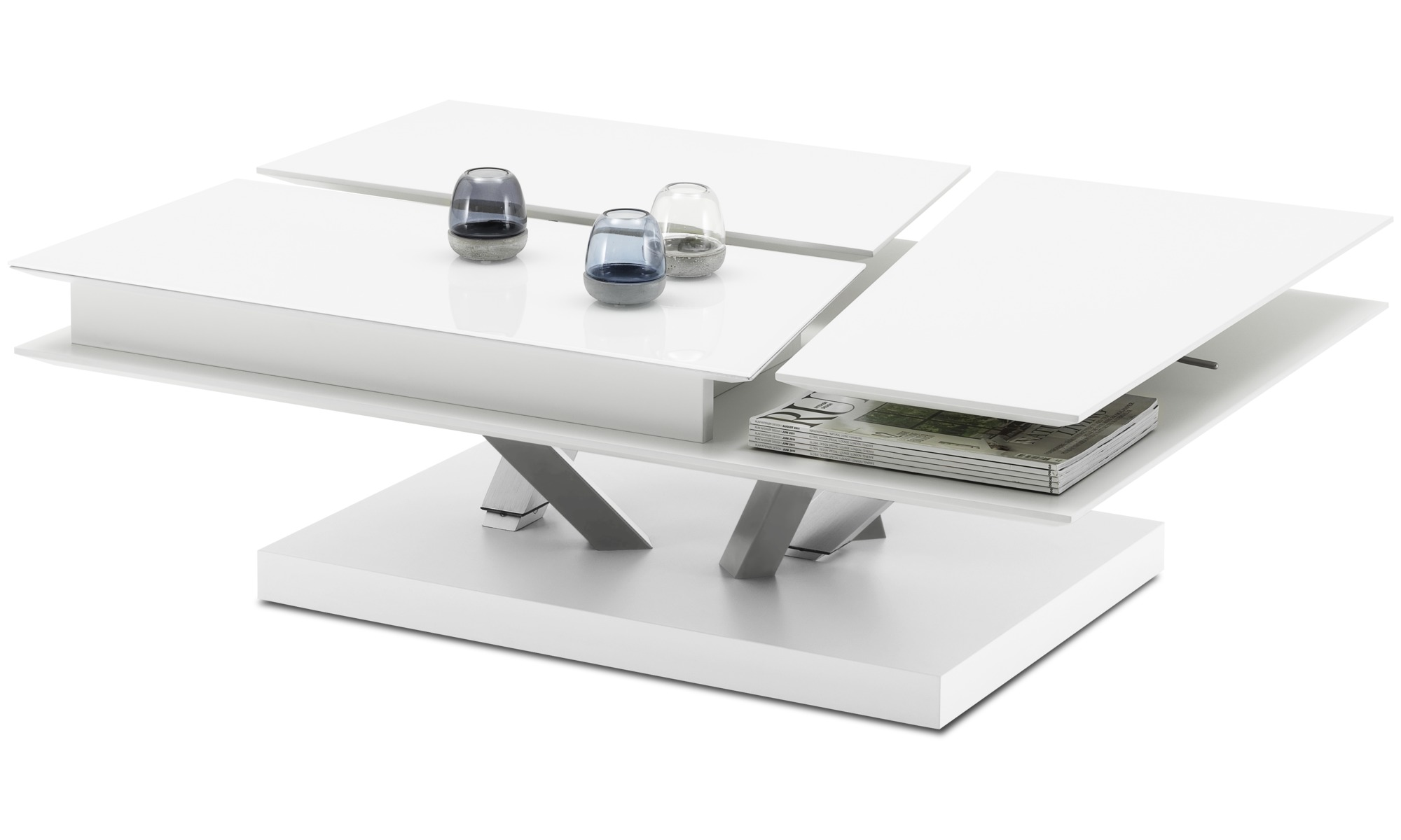 ... Coffee tables - Barcelona functional coffee table with storage - square  ...