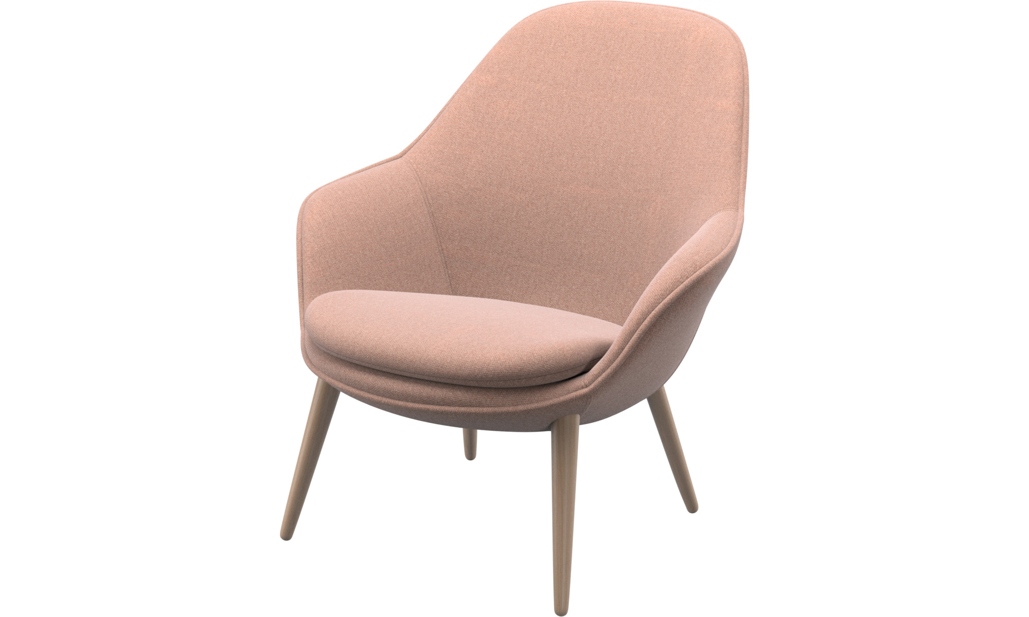 Armchairs - Adelaide living chair - Red - Fabric