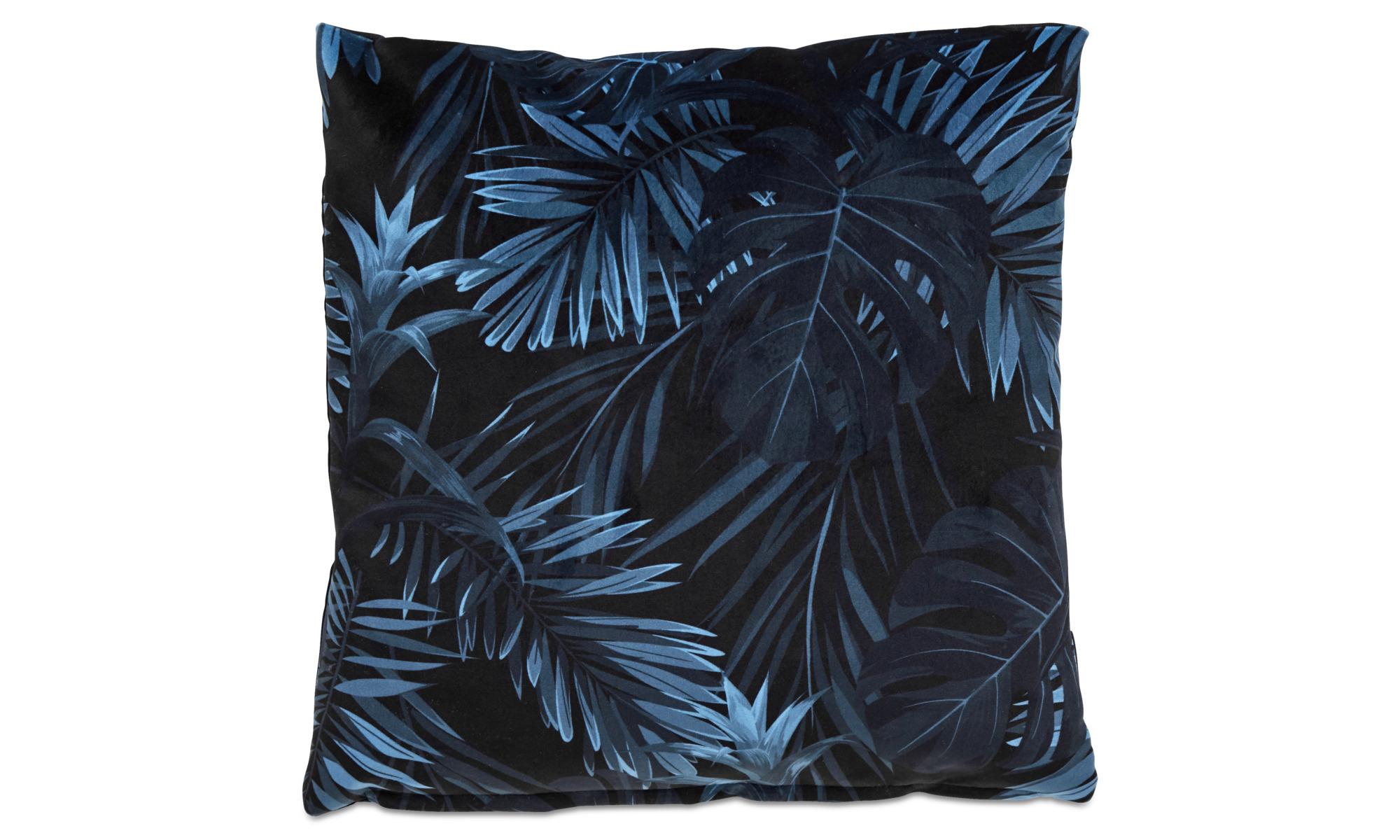 Cushions - Palm cushion - Blue - Fabric