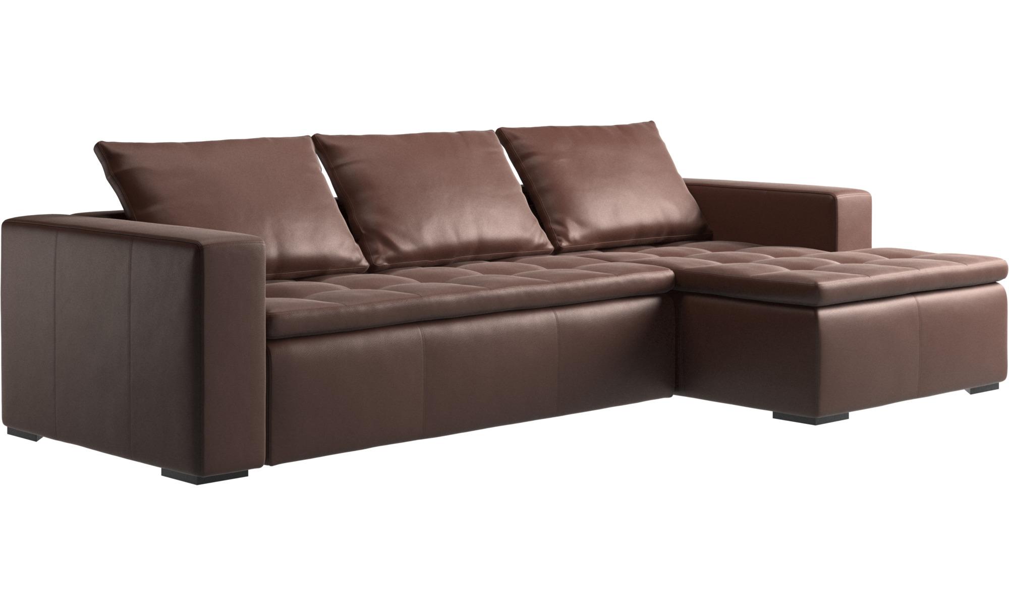 sofa mezzo sofa med hvilemodul boconcept. Black Bedroom Furniture Sets. Home Design Ideas