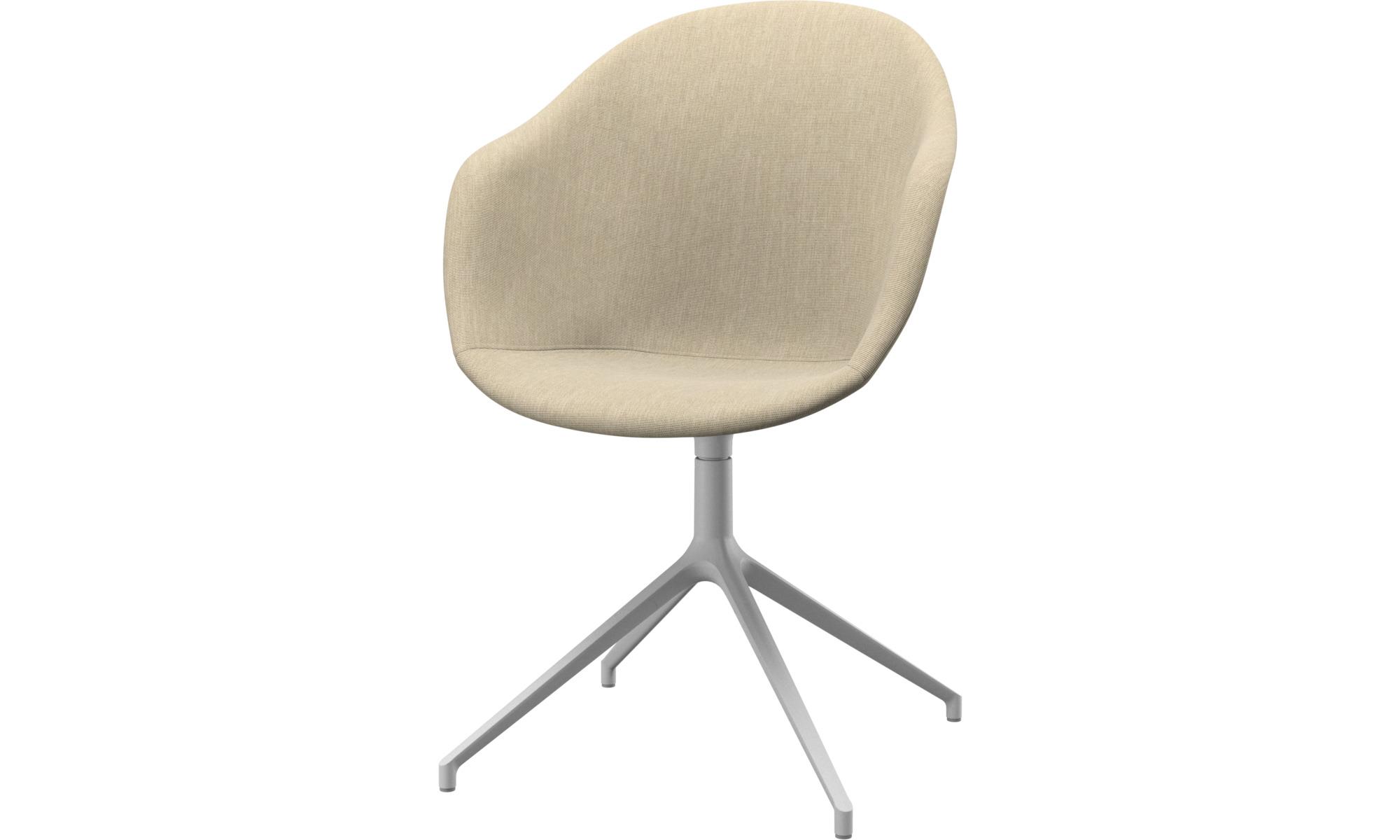 Home Office-Schreibtischstühle - Adelaide Stuhl mit Drehfunktion - Braun - Stoff