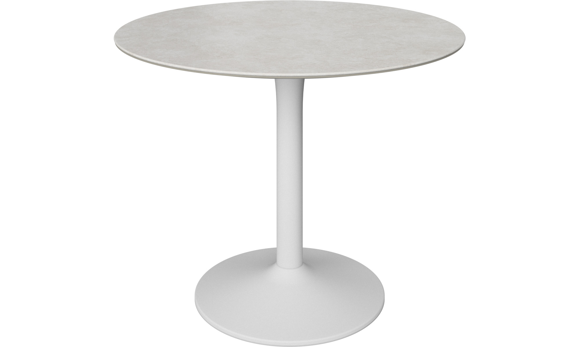 Dining tables - New York table - round - Grey - Ceramic