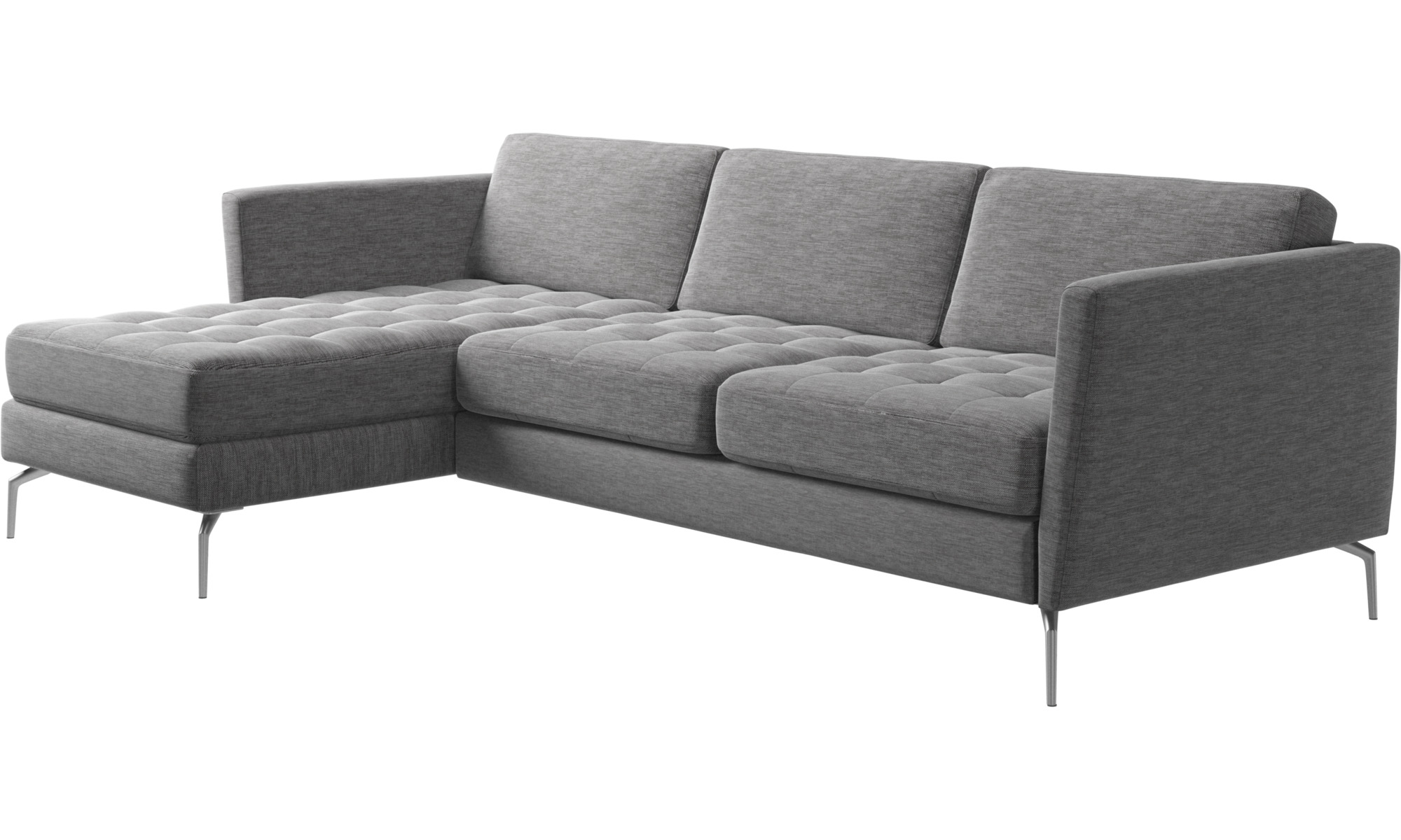 chaise lounge sofas osaka sofa with resting unit tufted seat boconcept. Black Bedroom Furniture Sets. Home Design Ideas