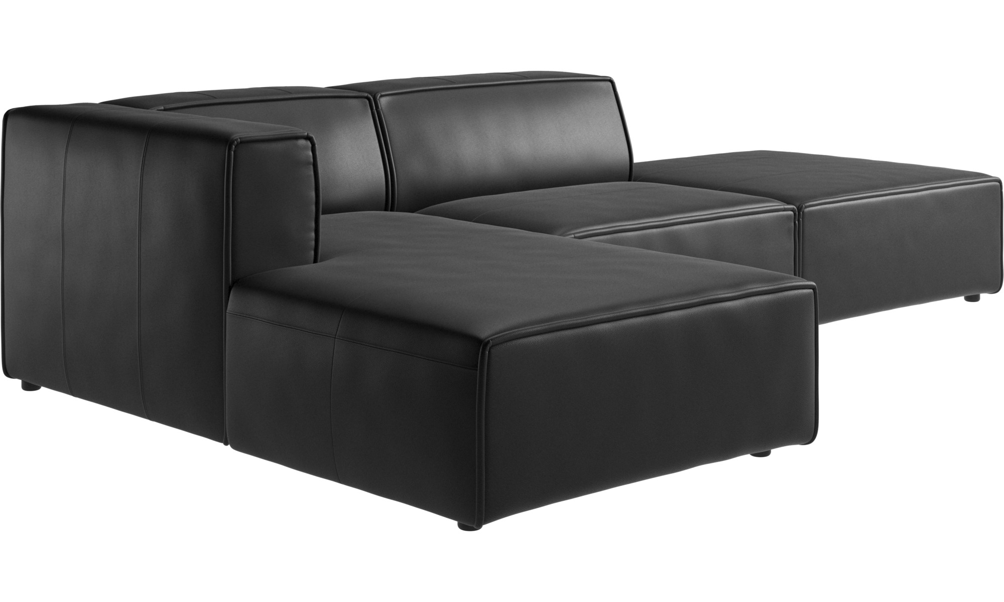 chaise longue sofas carmo sofa with lounging and resting unit boconcept. Black Bedroom Furniture Sets. Home Design Ideas