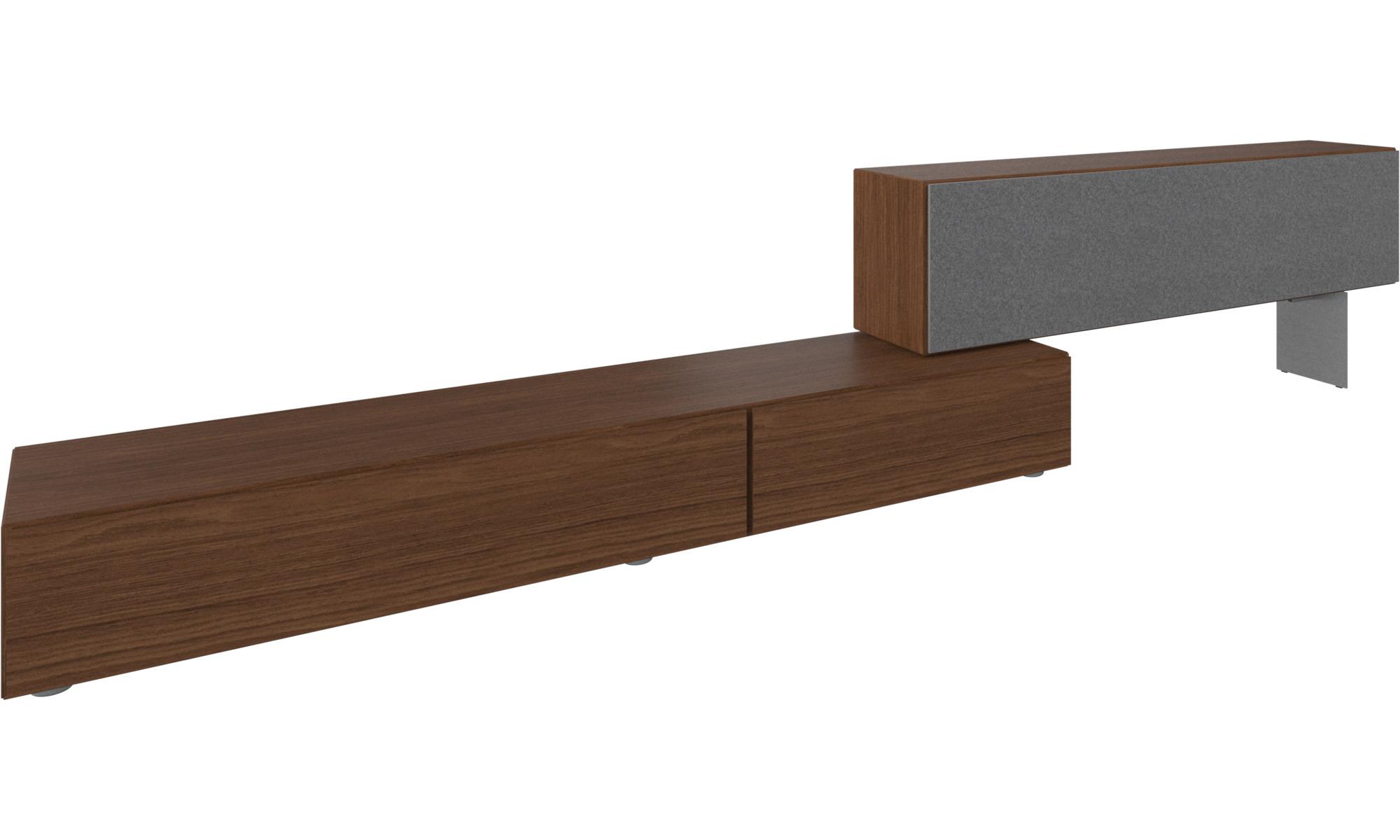 Möbel Boconcept tv möbel lugano basiskombination mit nach unten klappenden türen