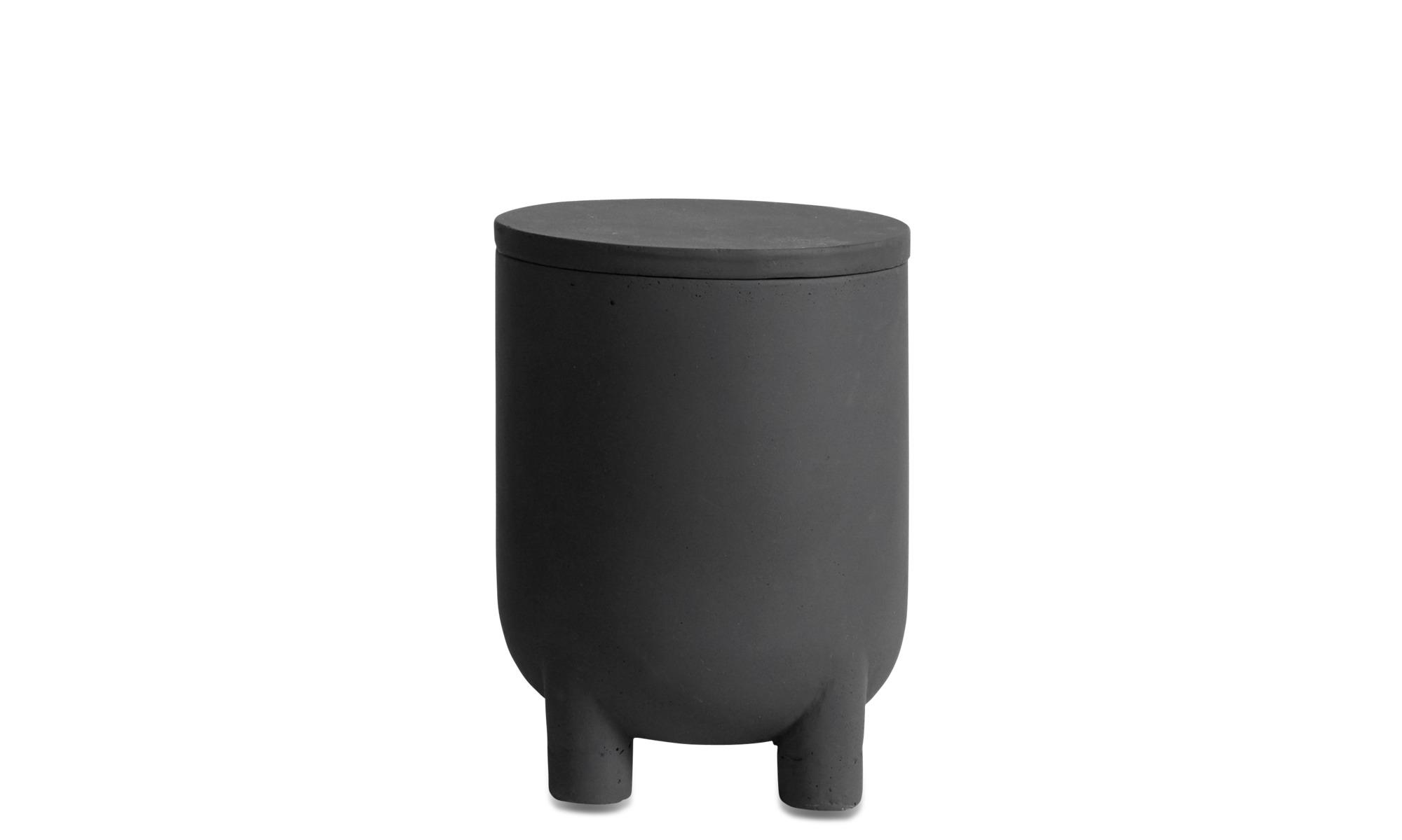 Flowerpots - Exterior outdoor flowerpot - Grey - Fibre cement