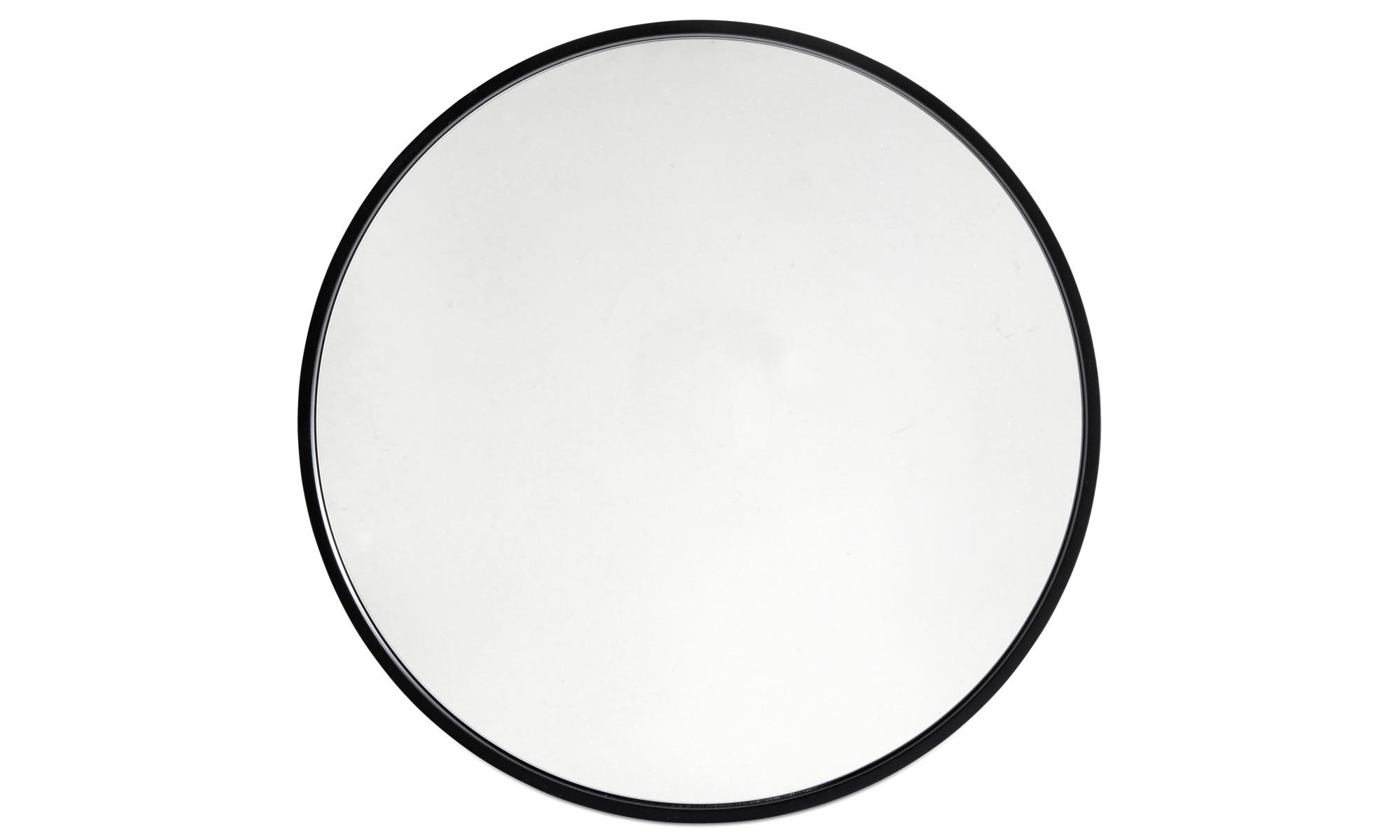 Mirrors - Ring mirror - Black - Glass