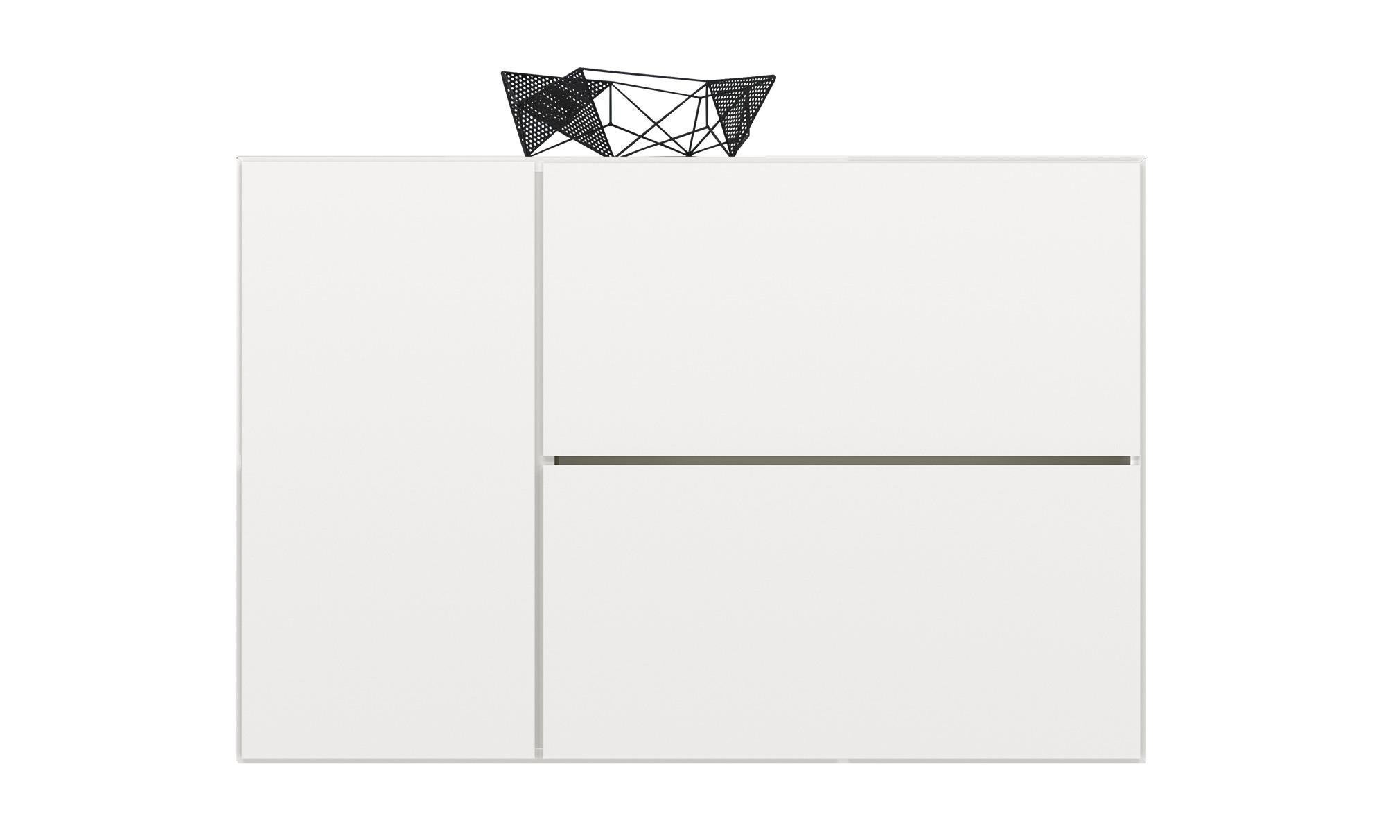 Buffets meuble lugano avec fixation murale et porte for Meuble boconcept