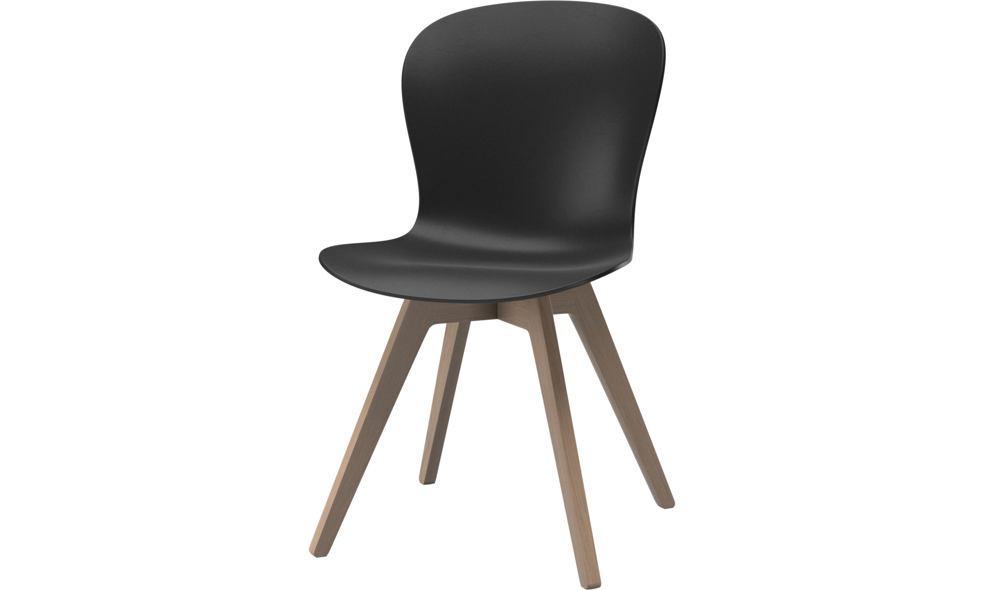 Dining chairs - Adelaide chair - Black - Oak