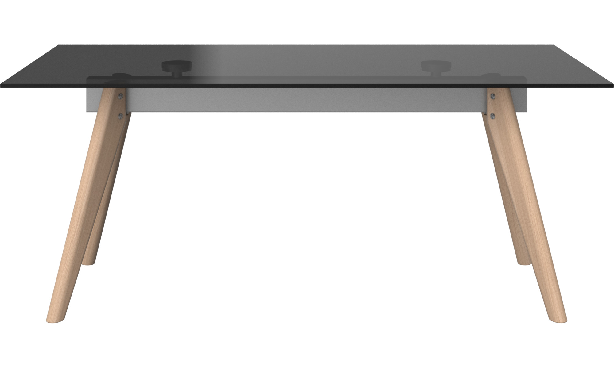 Dining tables - Monza table - rectangular - Grey - Glass