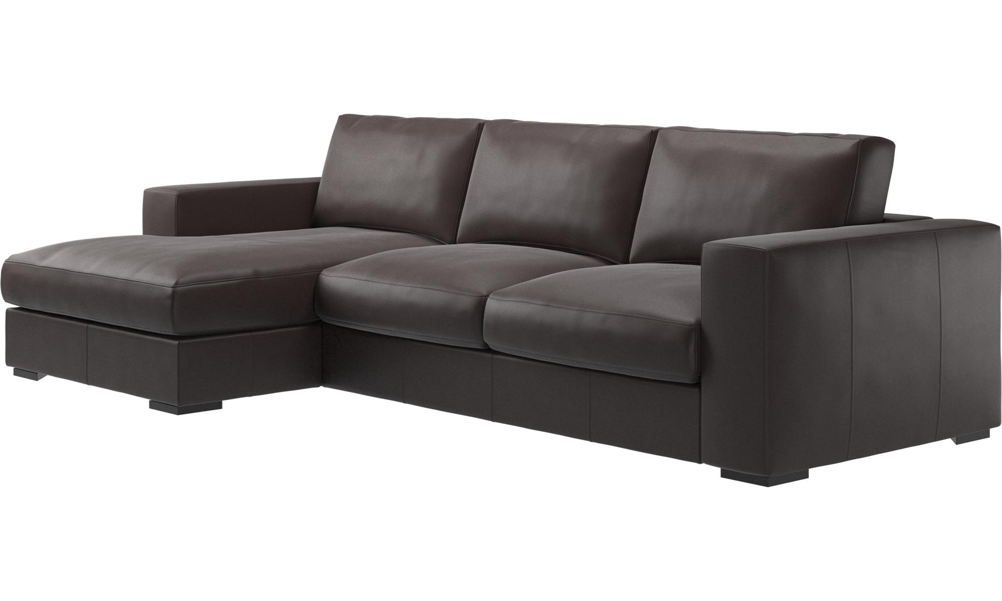 chaise longue sofas cenova sofa with resting unit boconcept. Black Bedroom Furniture Sets. Home Design Ideas