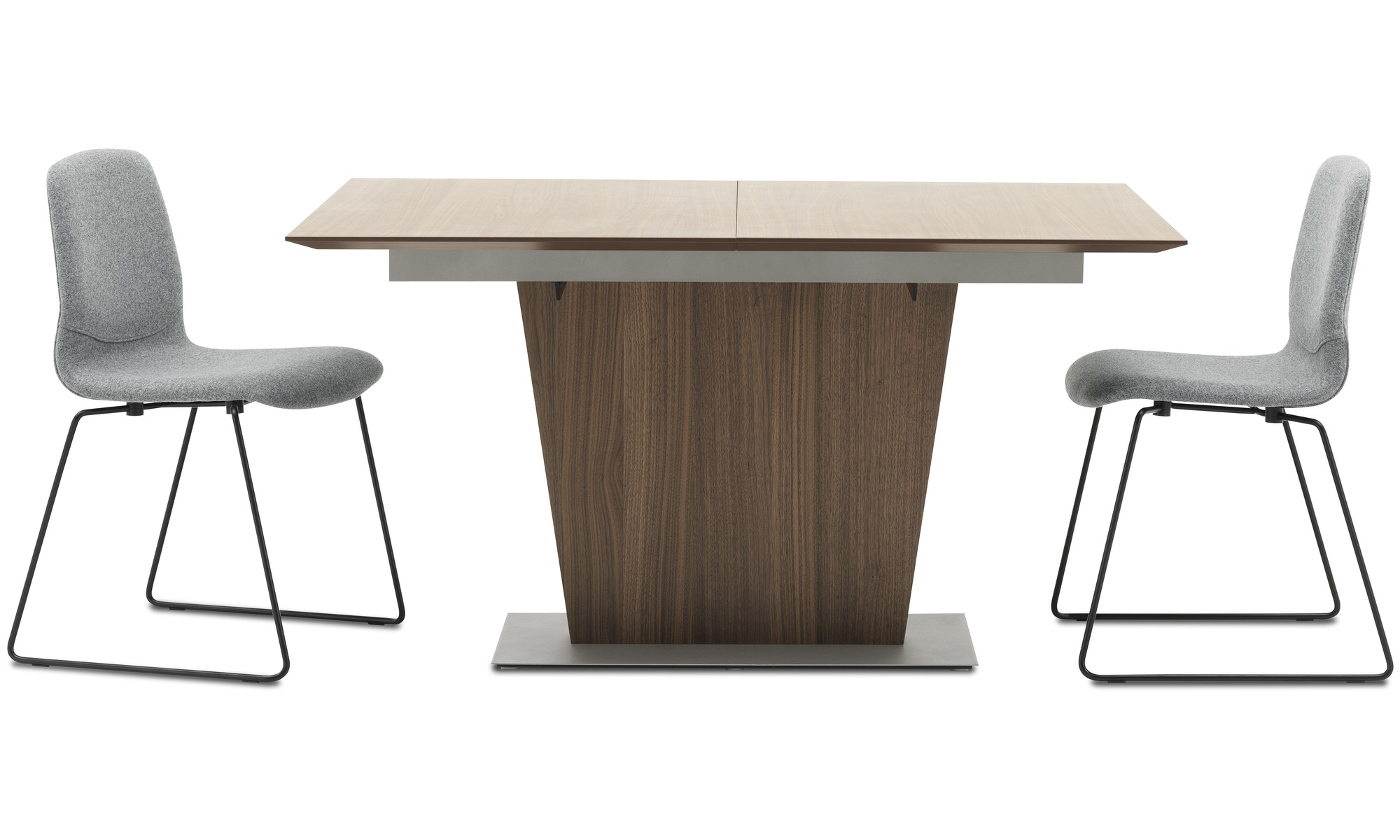Dining tables Milano table with supplementary tabletop BoConcept