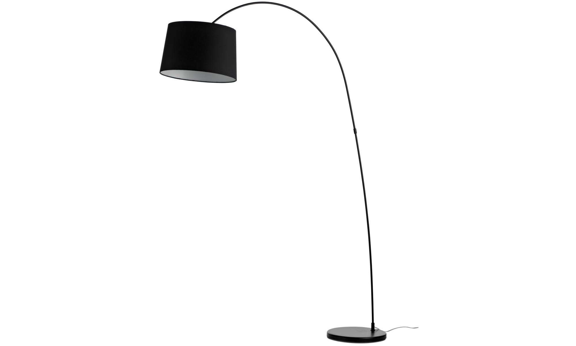 Lampy - Lampa podłogowa Kuta - Czarny - Metal