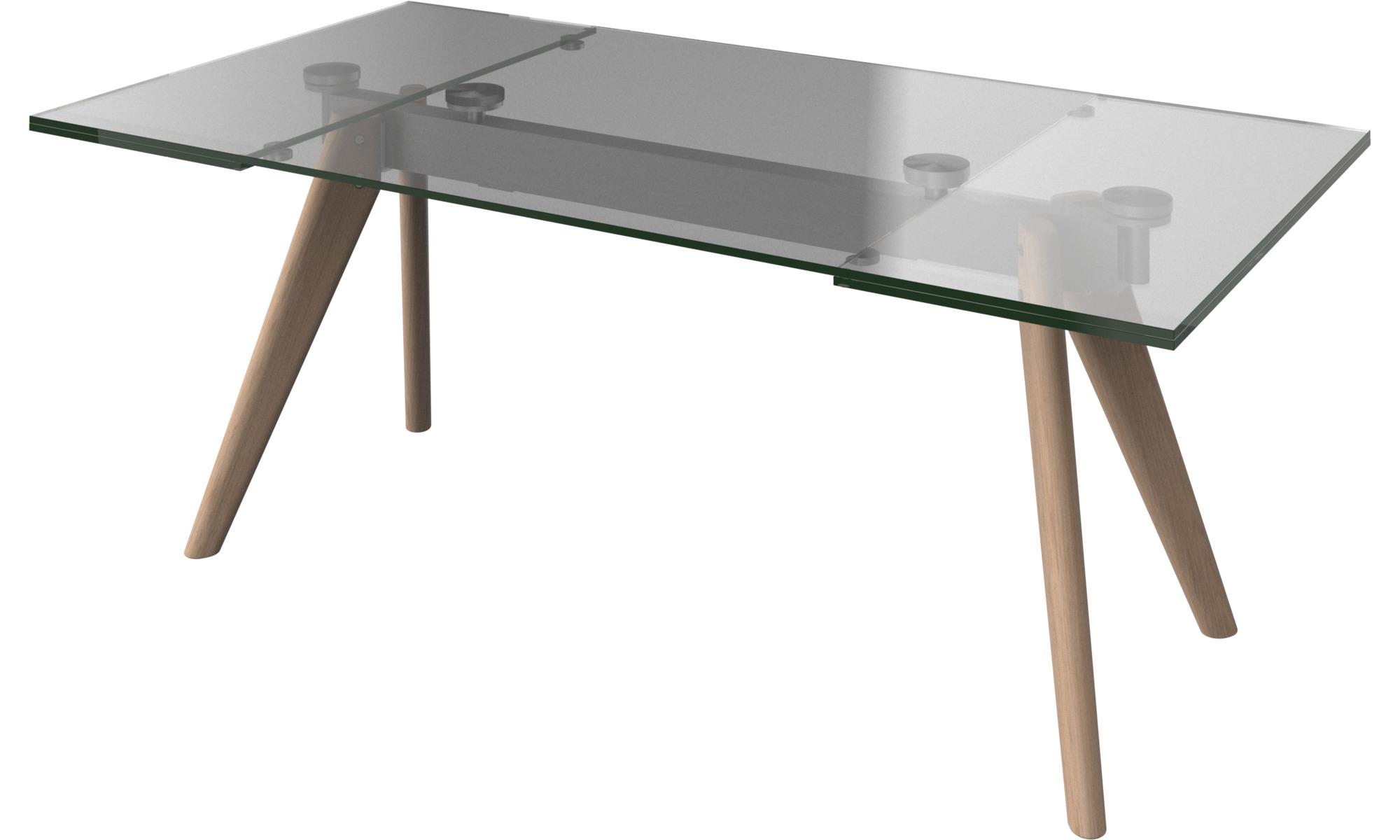 Mesas de comedor - mesa extensible Monza con tableros ...
