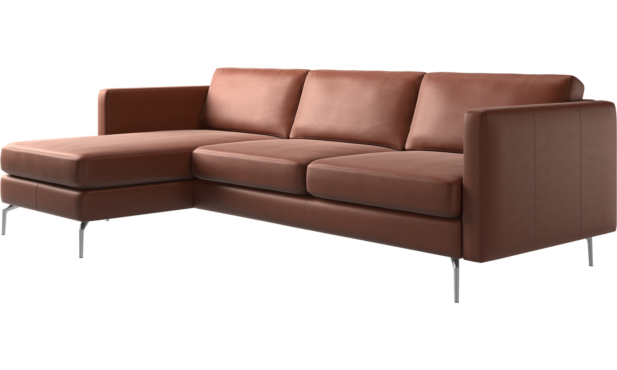 chaise lounge sofas osaka sofa with resting unit regular seat boconcept. Black Bedroom Furniture Sets. Home Design Ideas