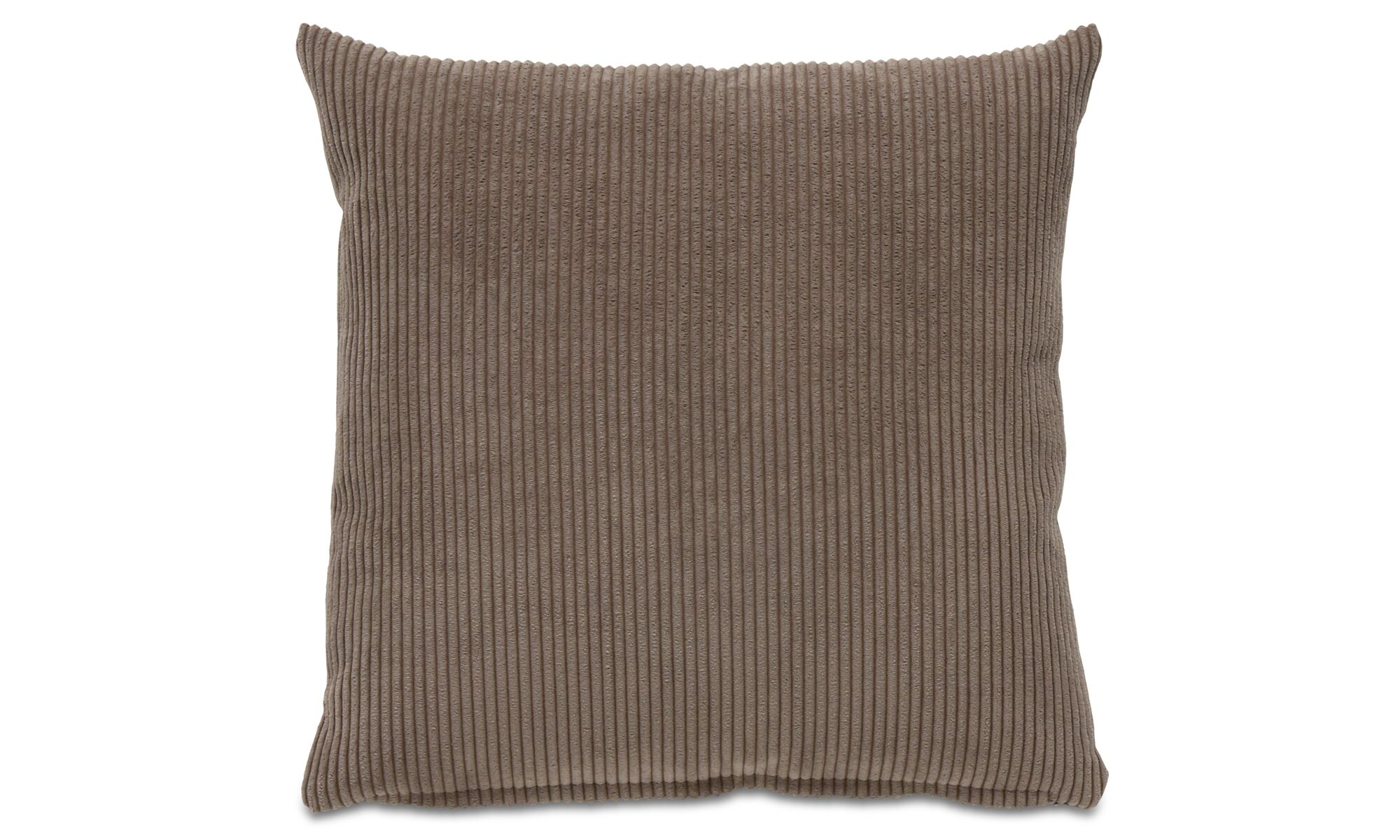 Cushions - Cord cushion - Brown - Fabric