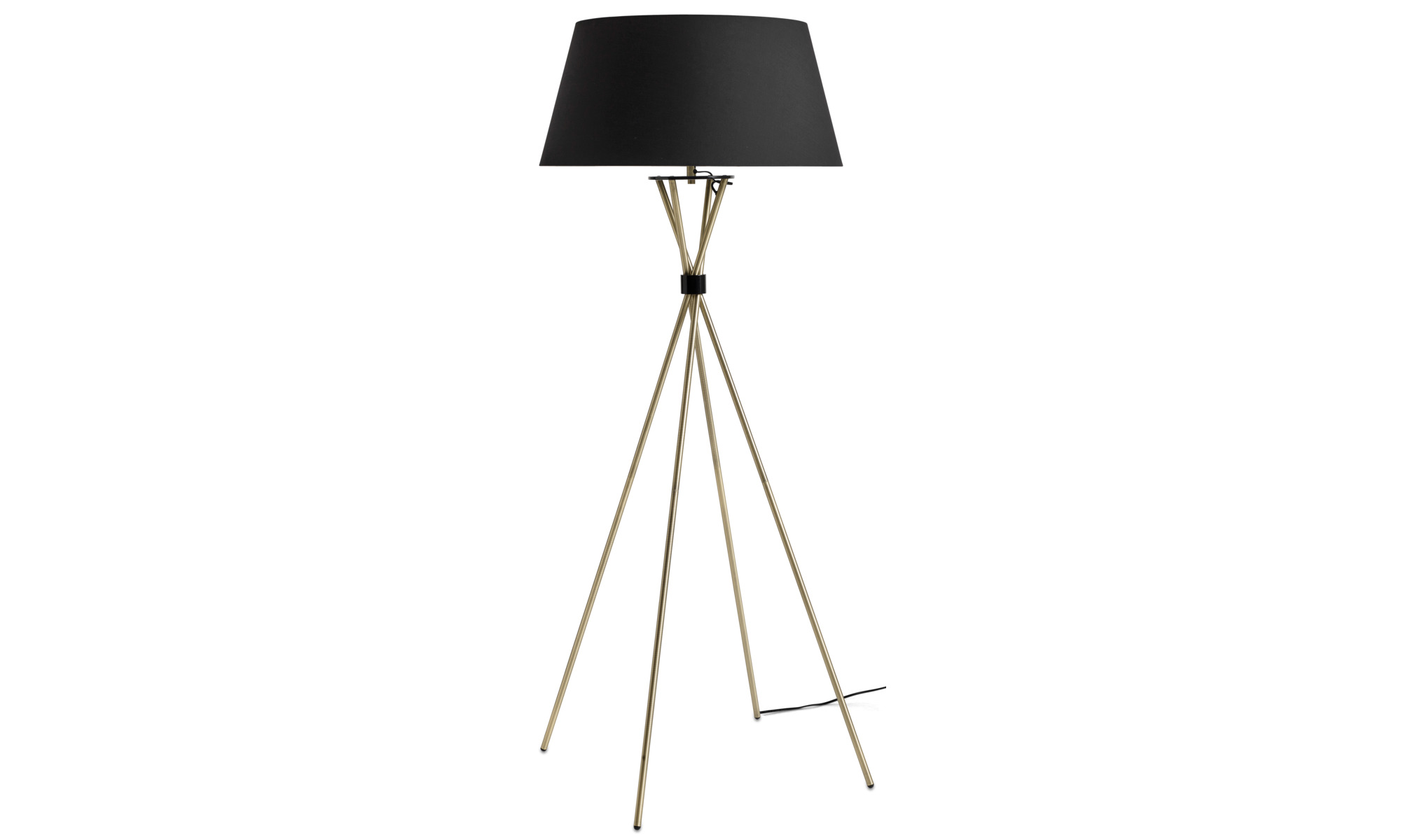 Lampor - Main golvlampa - Gul - Metall