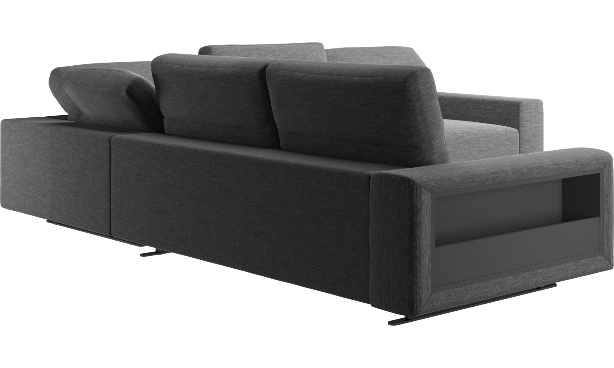sofa mit verstellbarer r ckenlehne napoli stoff hampton sofa mit verstellbar. Black Bedroom Furniture Sets. Home Design Ideas