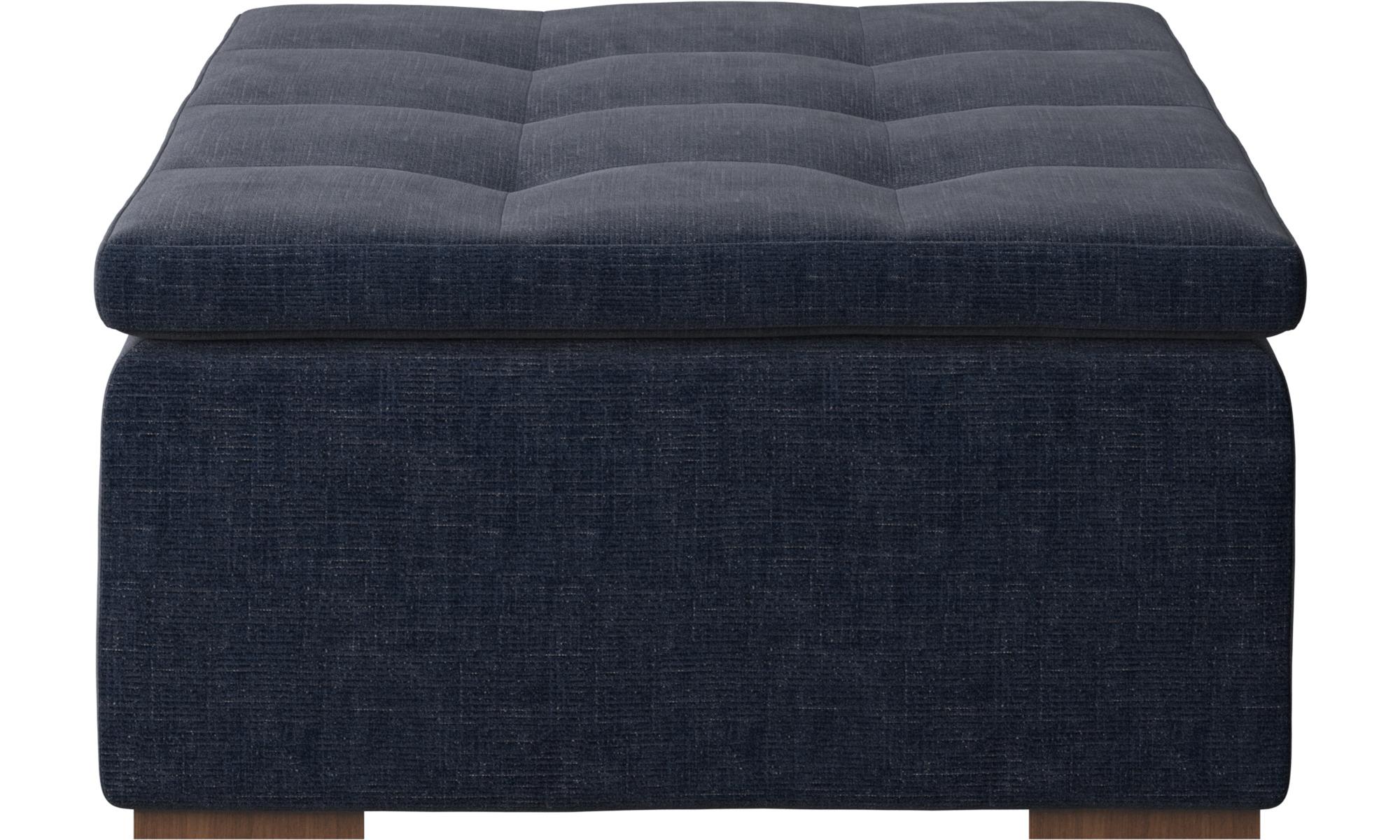 navy blue napoli mezzo ottoman boconcept. Black Bedroom Furniture Sets. Home Design Ideas