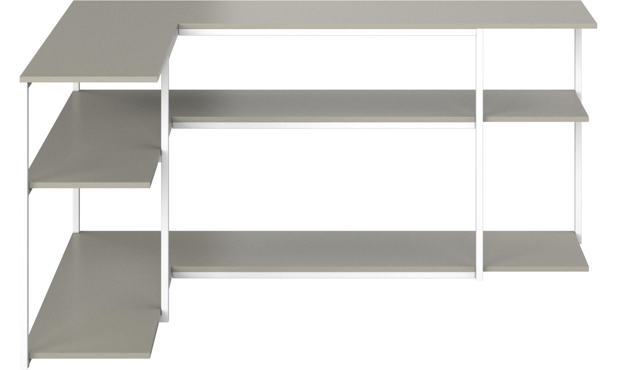 Hallmöbler - Bordeaux konsolbord - rektangulär - Grå - Lack