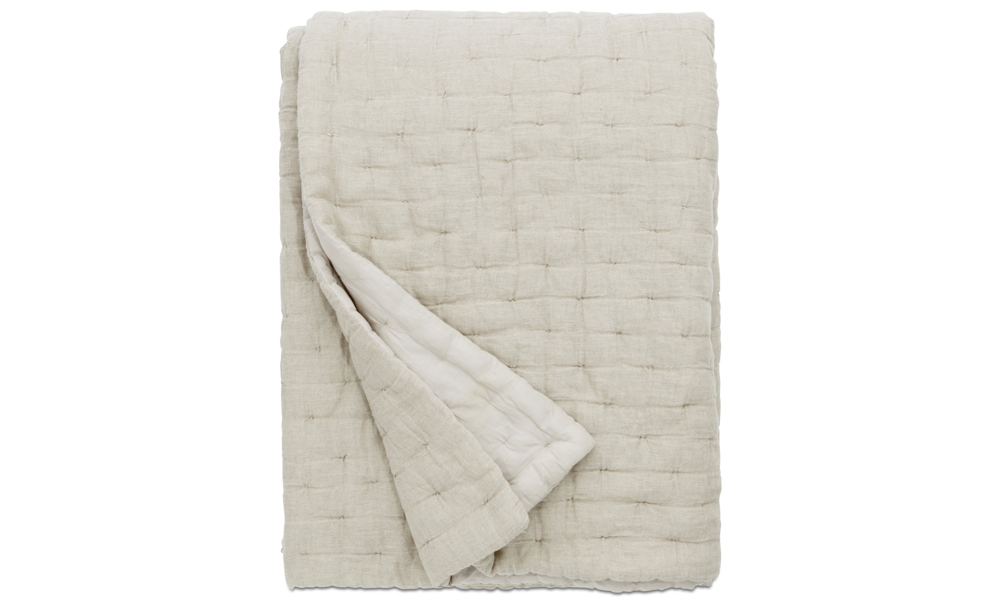 Throws & bedspreads - REMS bedspread - Beige - Fabric