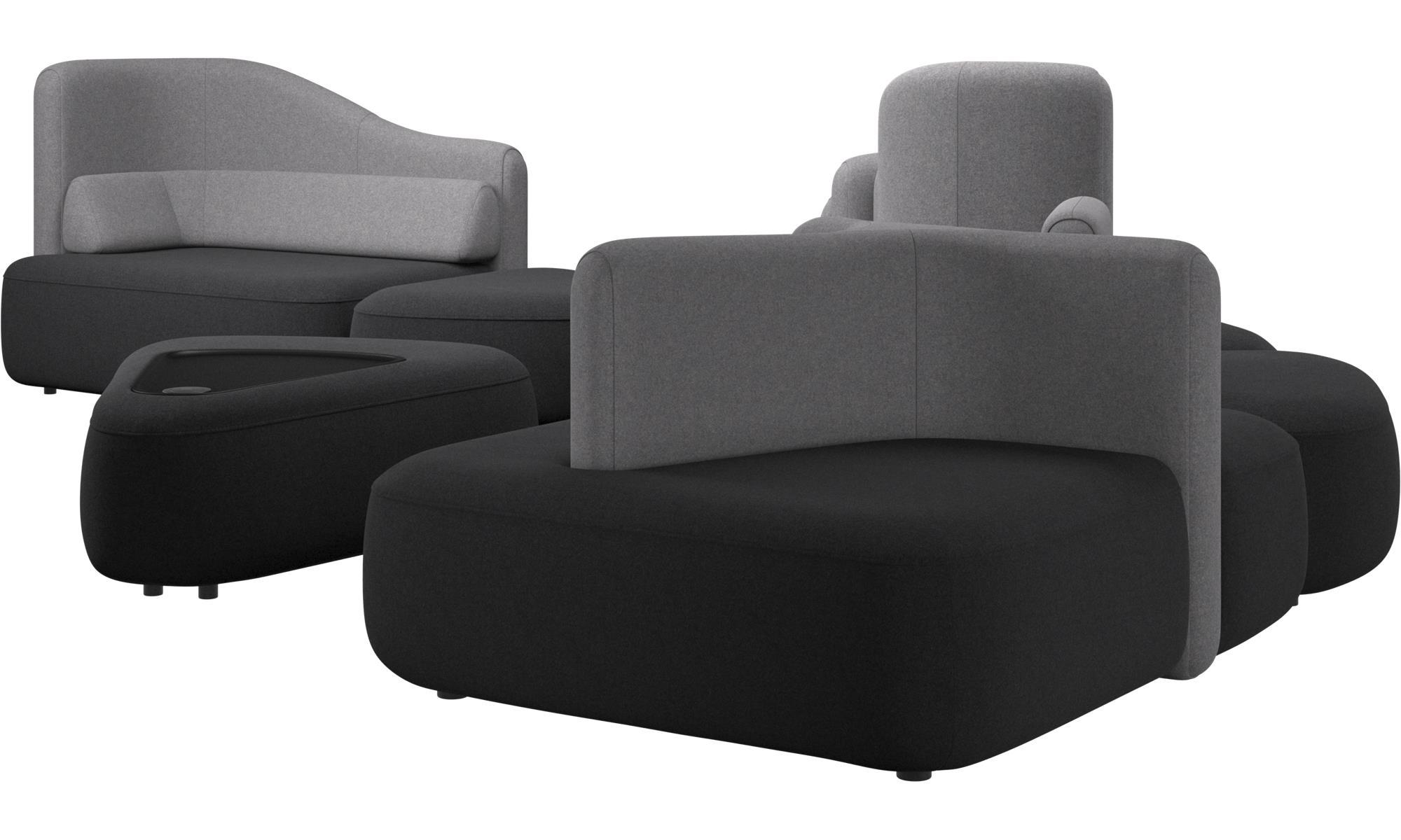 ... Modulare Sofas   Ottawa Sofa   Grau   Stoff ...