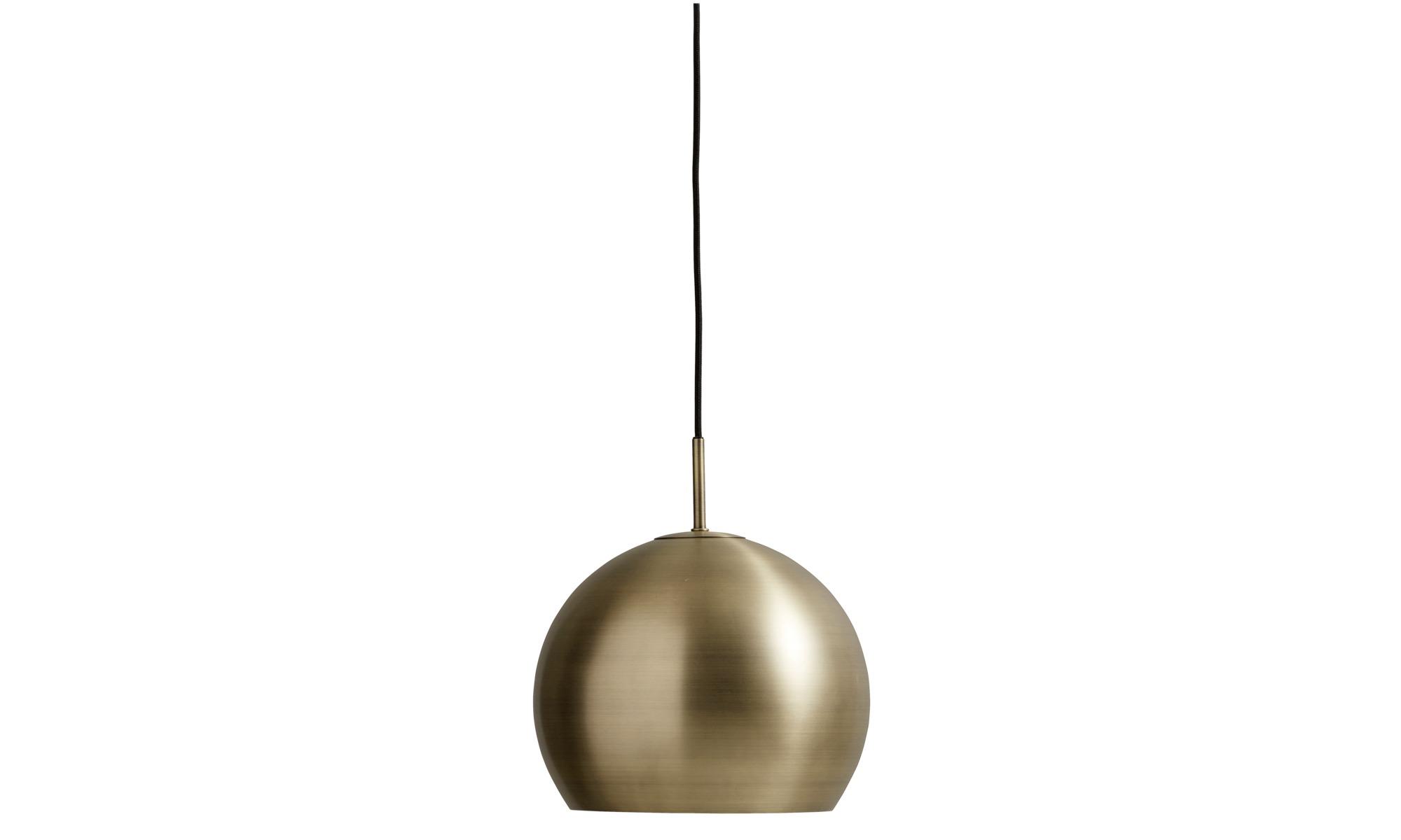 Valaisimet - Ball-kattovalaisin - Keltainen - Metalli