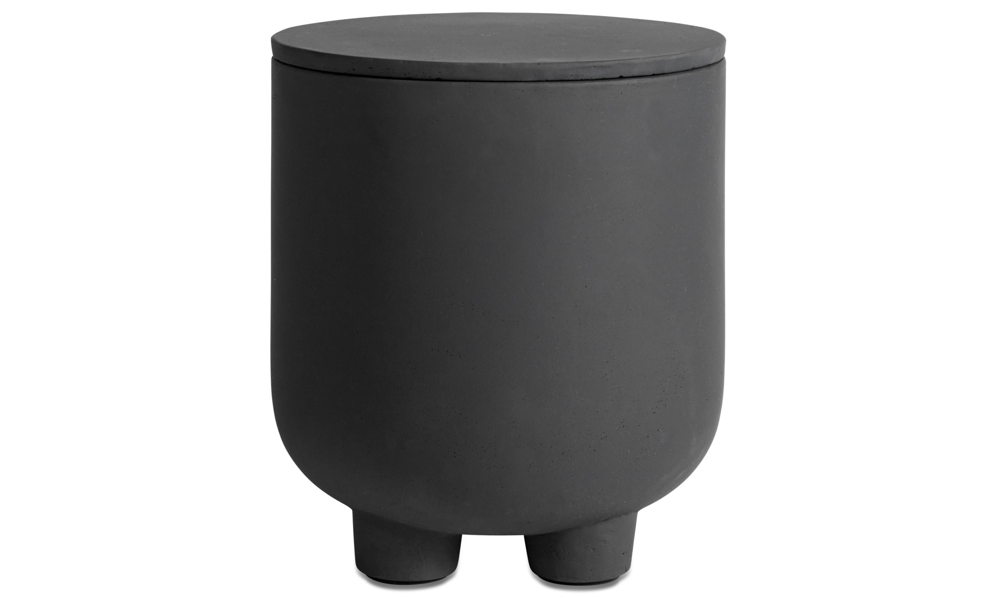 Stools - Exterior outdoor stool - Grey - Fibre cement