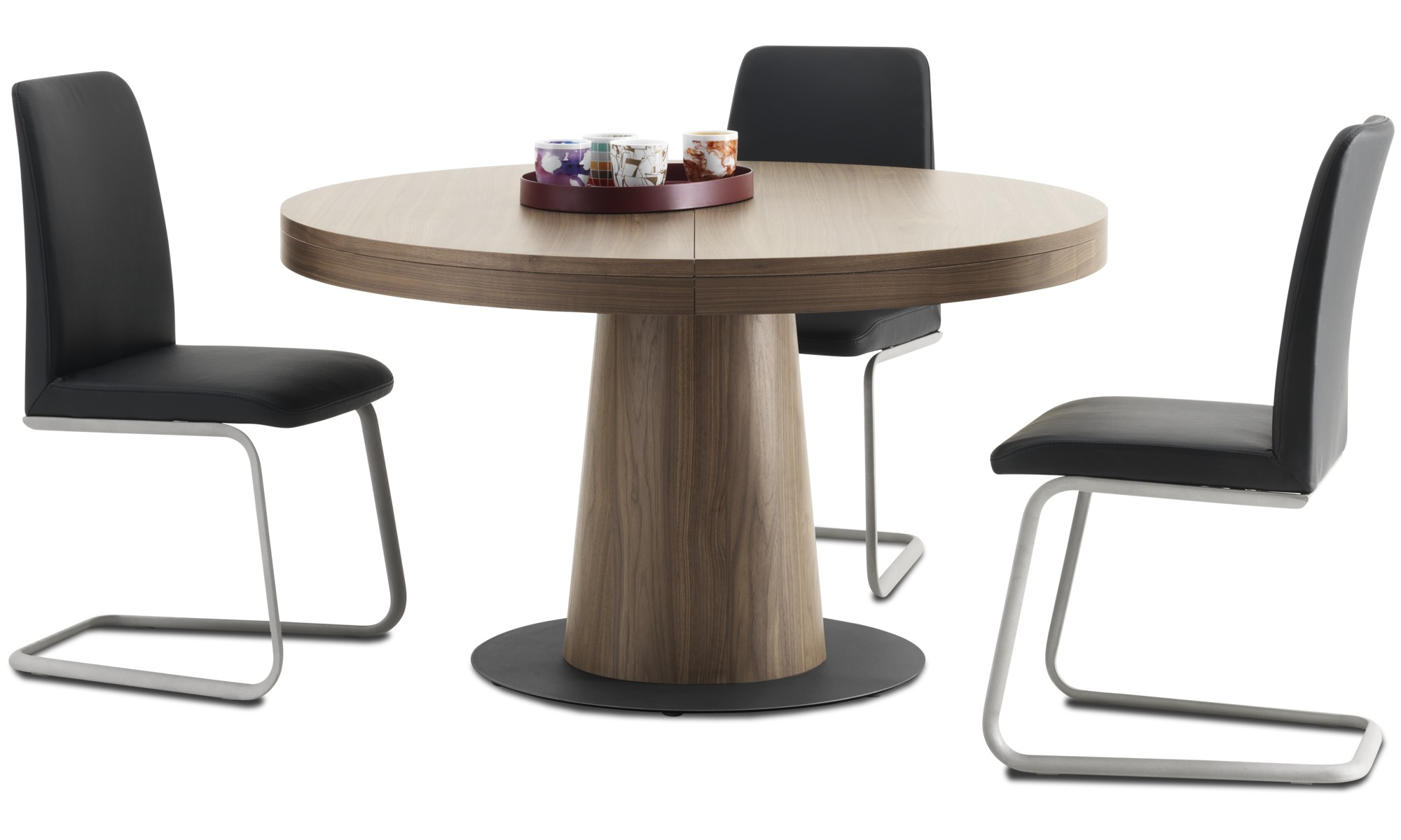 Dining tables Granada table with supplementary tabletop BoConcept