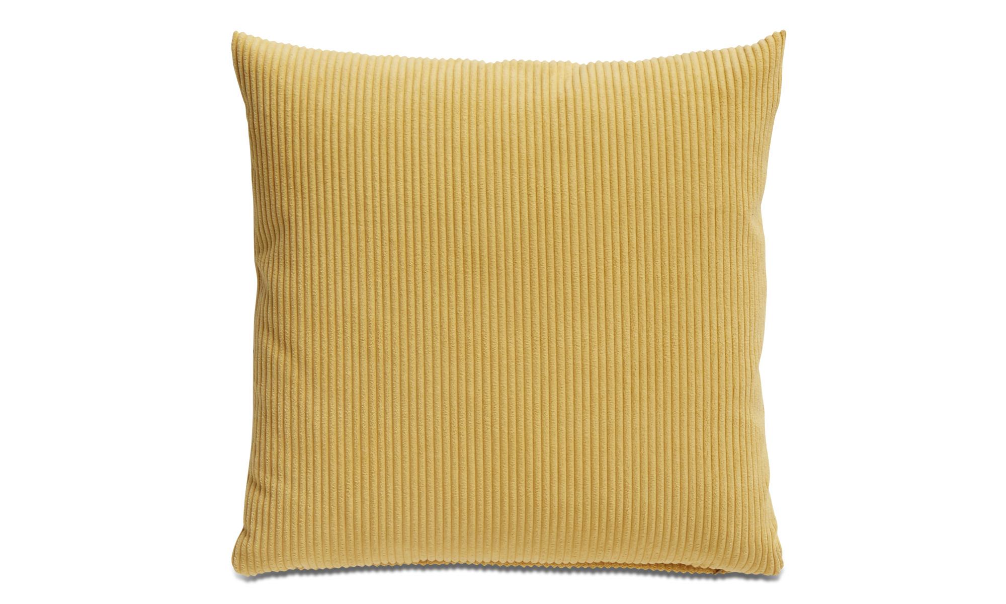 Cushions - Cord cushion - Yellow - Fabric