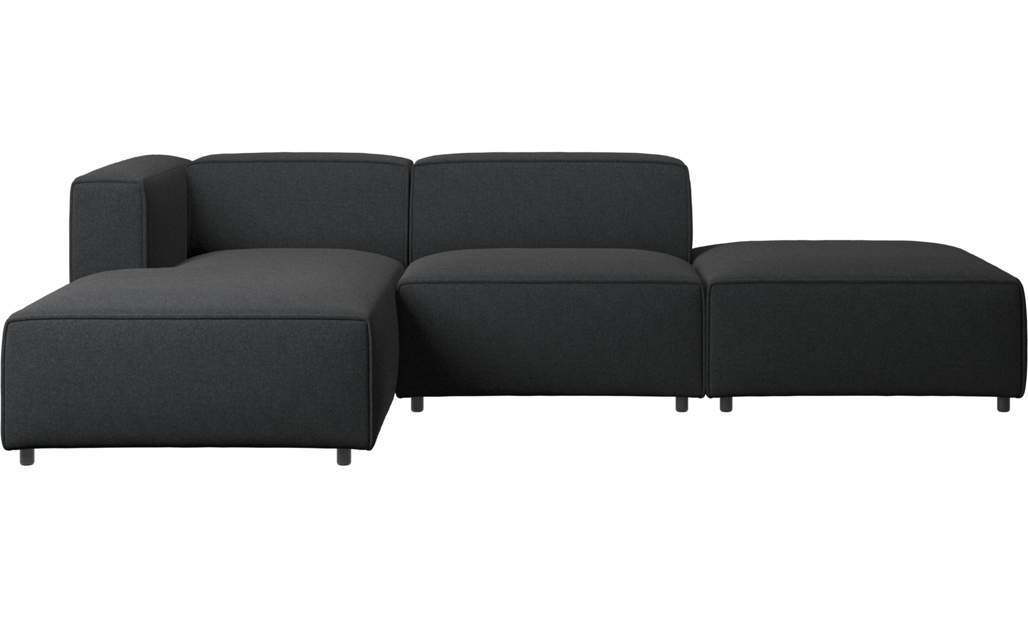 chaise lounge sofas carmo sofa with lounging and resting unit boconcept. Black Bedroom Furniture Sets. Home Design Ideas