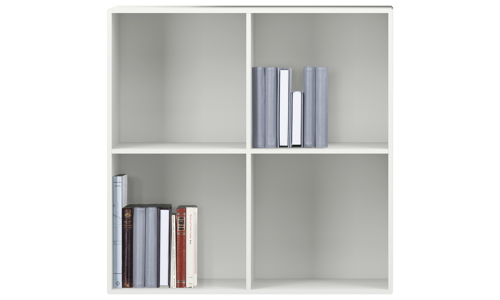 Wandsysteme - Como Regal - Weiß - Lack