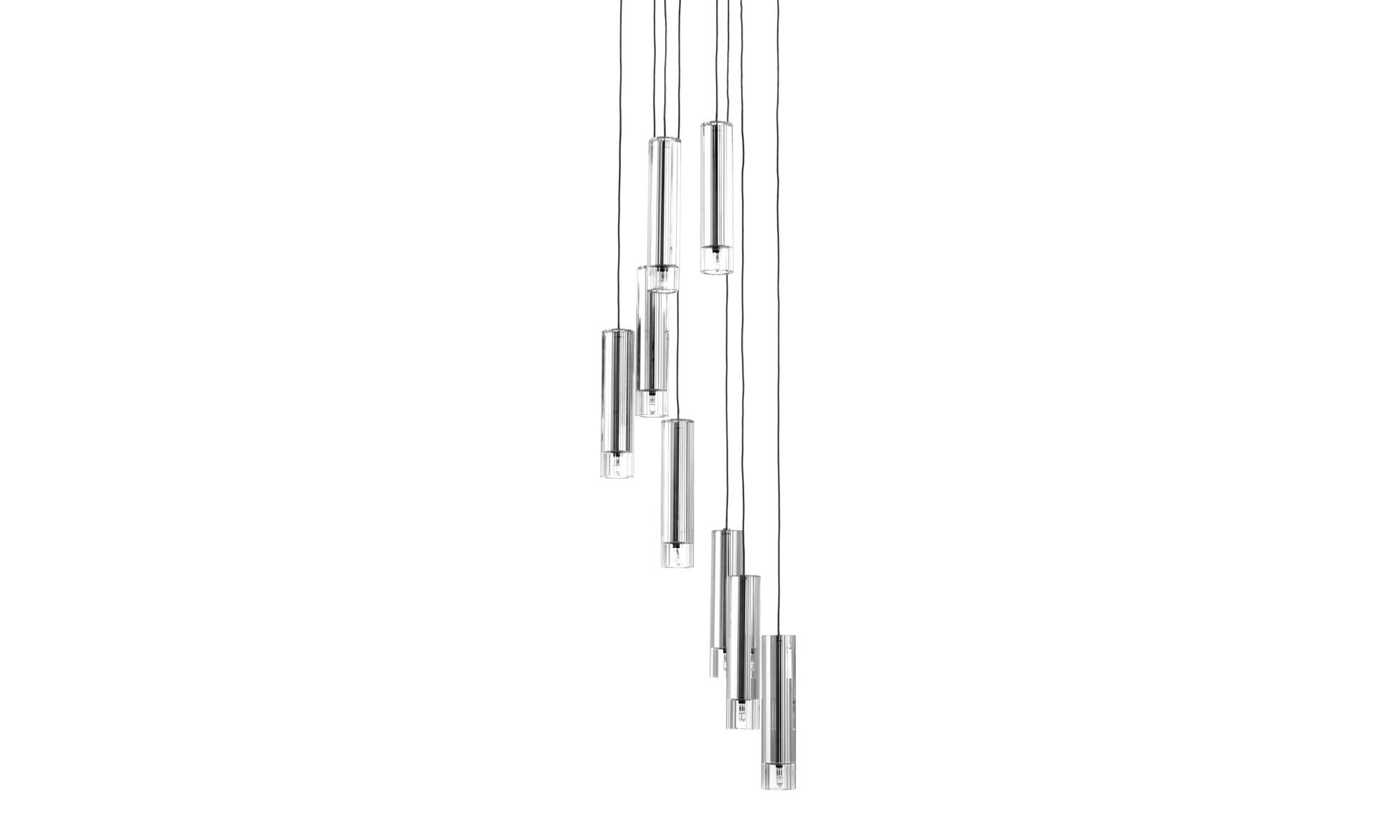 Lampor - Futuna lampkrona - Klar - Glas