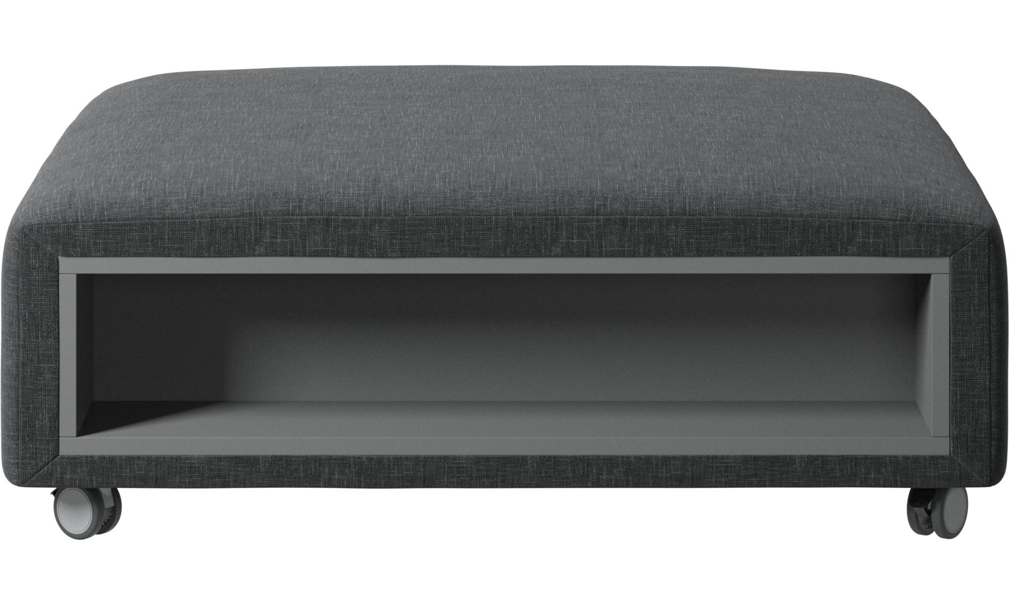 sofa hocker hampton pouf mit rollen und stauraum auf linker und rechter seite boconcept. Black Bedroom Furniture Sets. Home Design Ideas