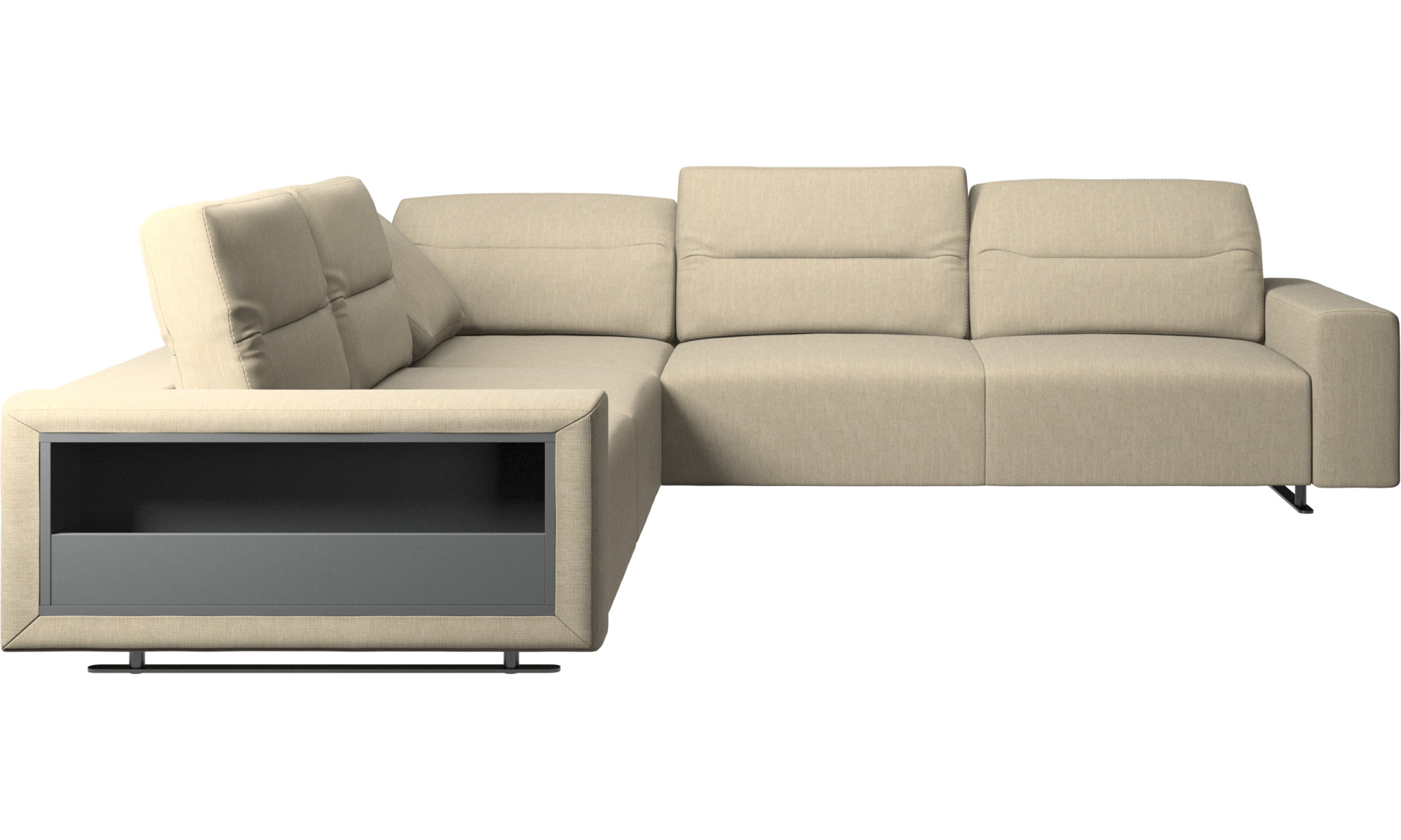 Corner sofas hampton corner sofa with adjustable back for Canape poltrone et sofa